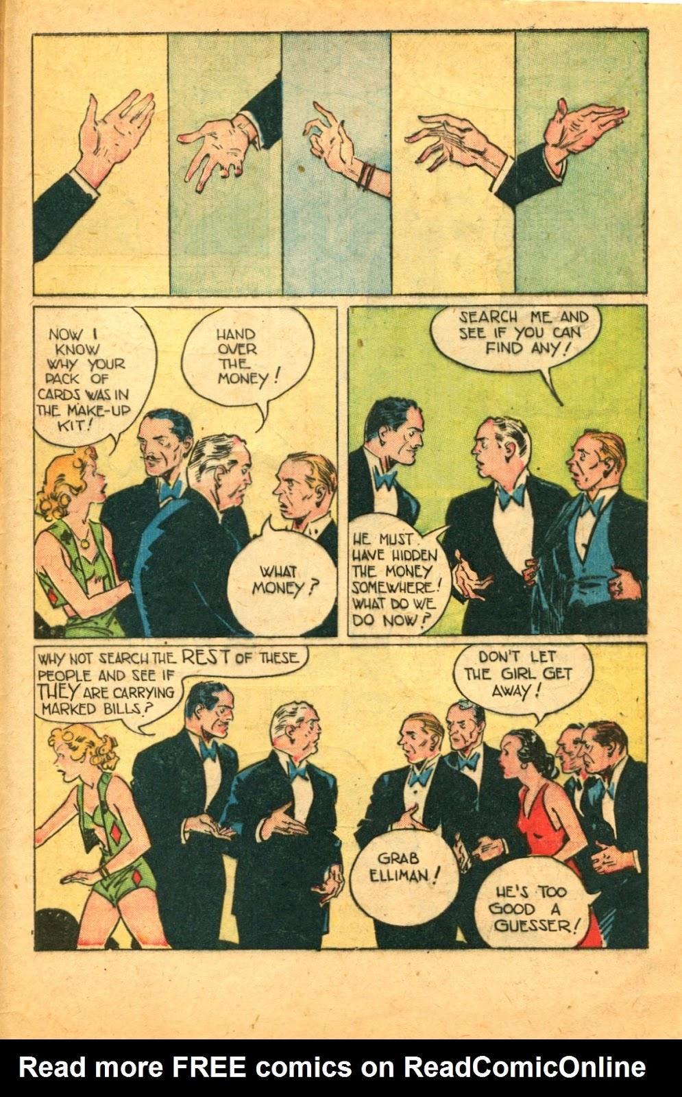 Read online Super-Magician Comics comic -  Issue #49 - 49
