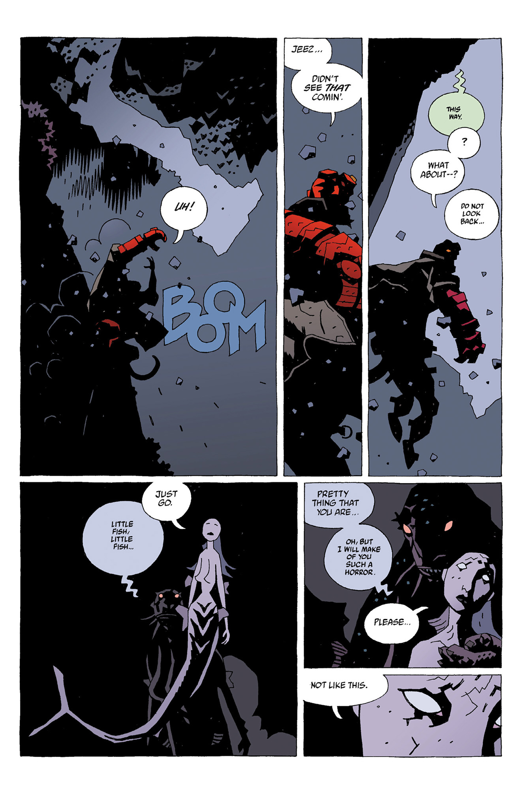 Read online Hellboy: Strange Places comic -  Issue # TPB - 53