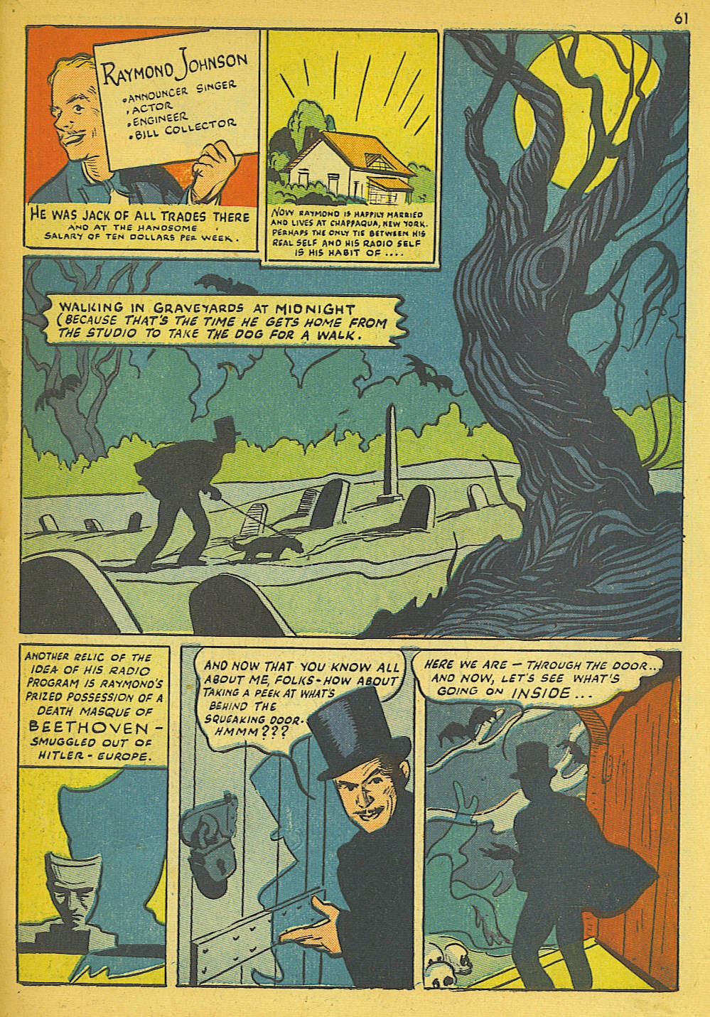 Read online Super-Magician Comics comic -  Issue #19 - 53