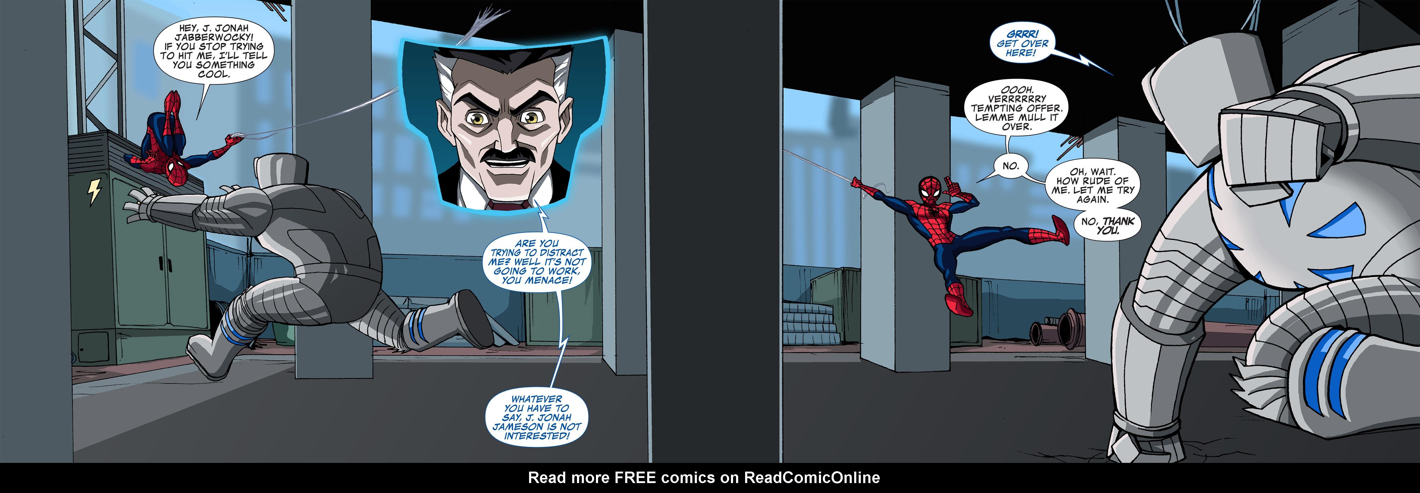 Read online Ultimate Spider-Man (Infinite Comics) (2015) comic -  Issue #4 - 16