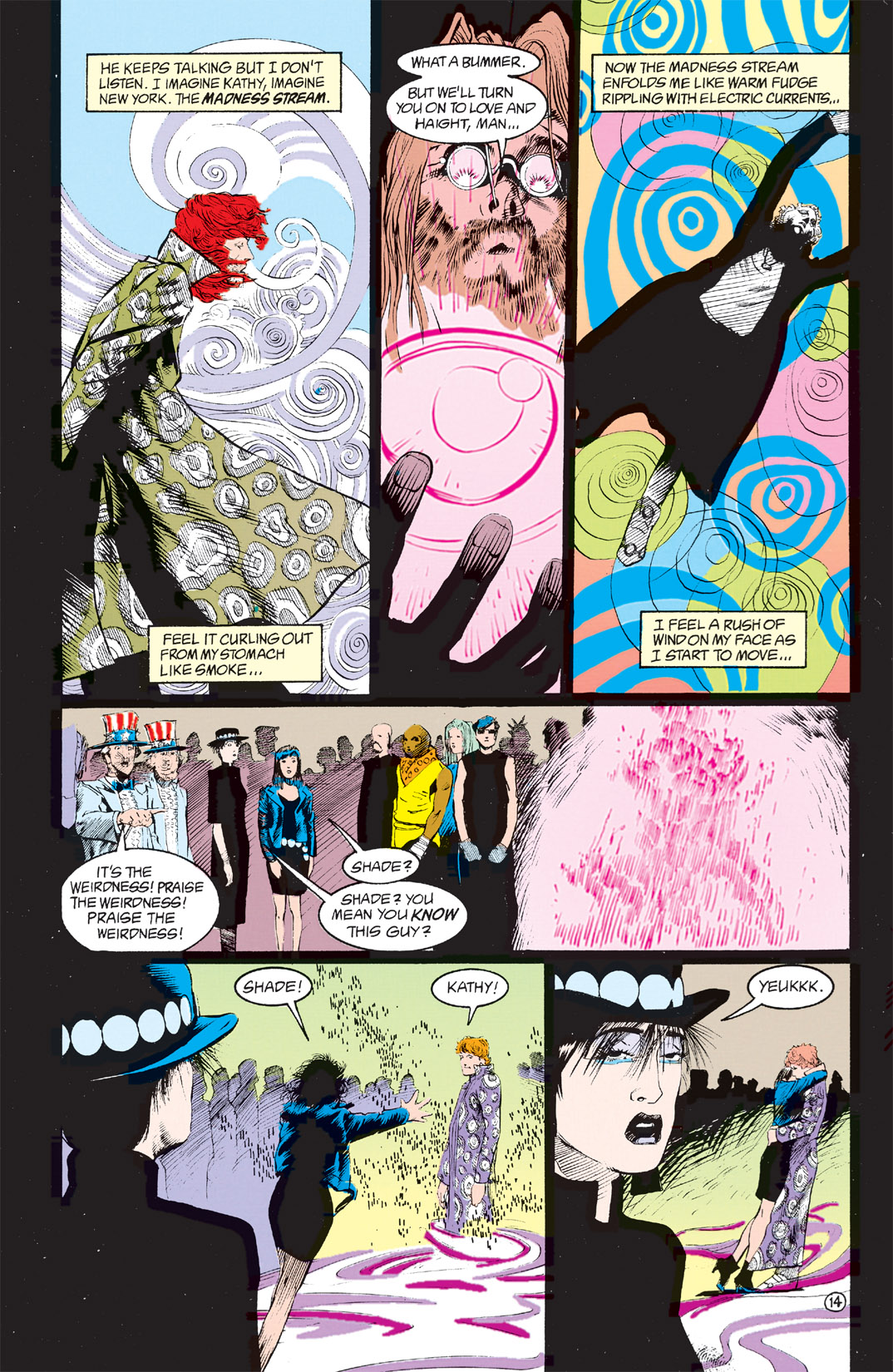 Read online Shade, the Changing Man comic -  Issue #8 - 12