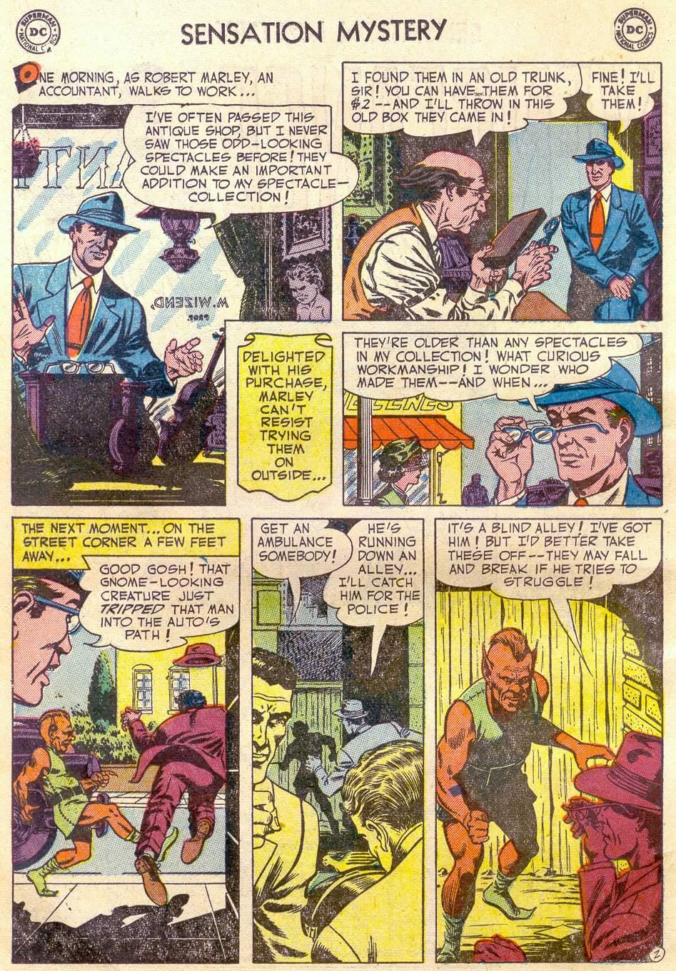 Read online Sensation (Mystery) Comics comic -  Issue #110 - 14