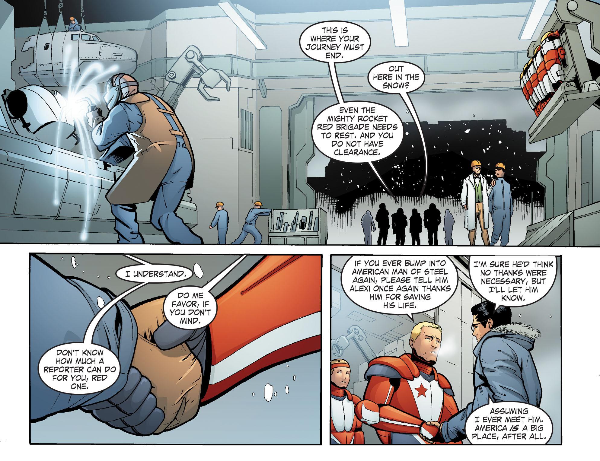 Read online Smallville: Alien comic -  Issue #5 - 19