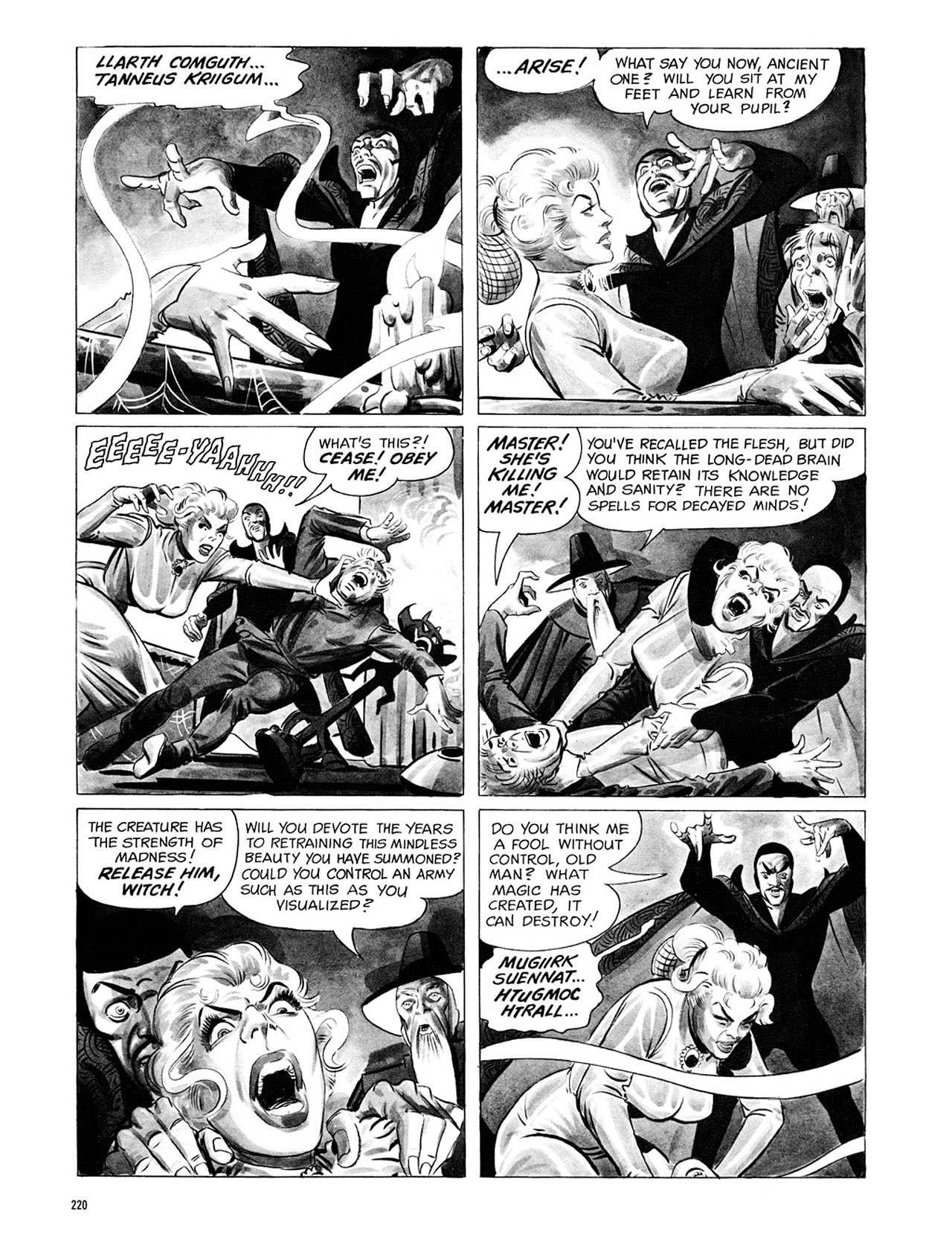 Read online Eerie Archives comic -  Issue # TPB 1 - 221