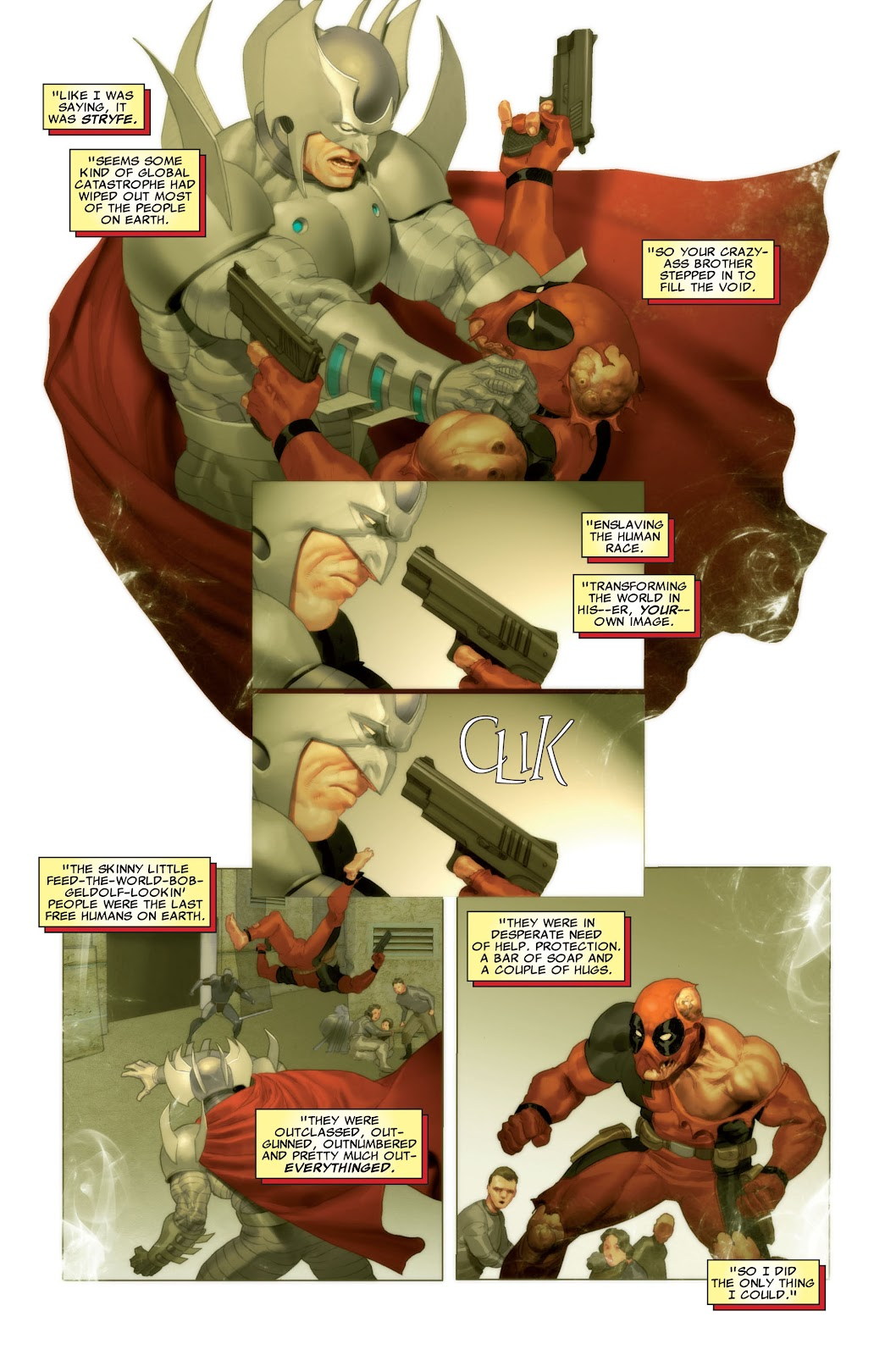 Read online X-Force/Cable: Messiah War comic -  Issue # _TPB (Part 2) - 2