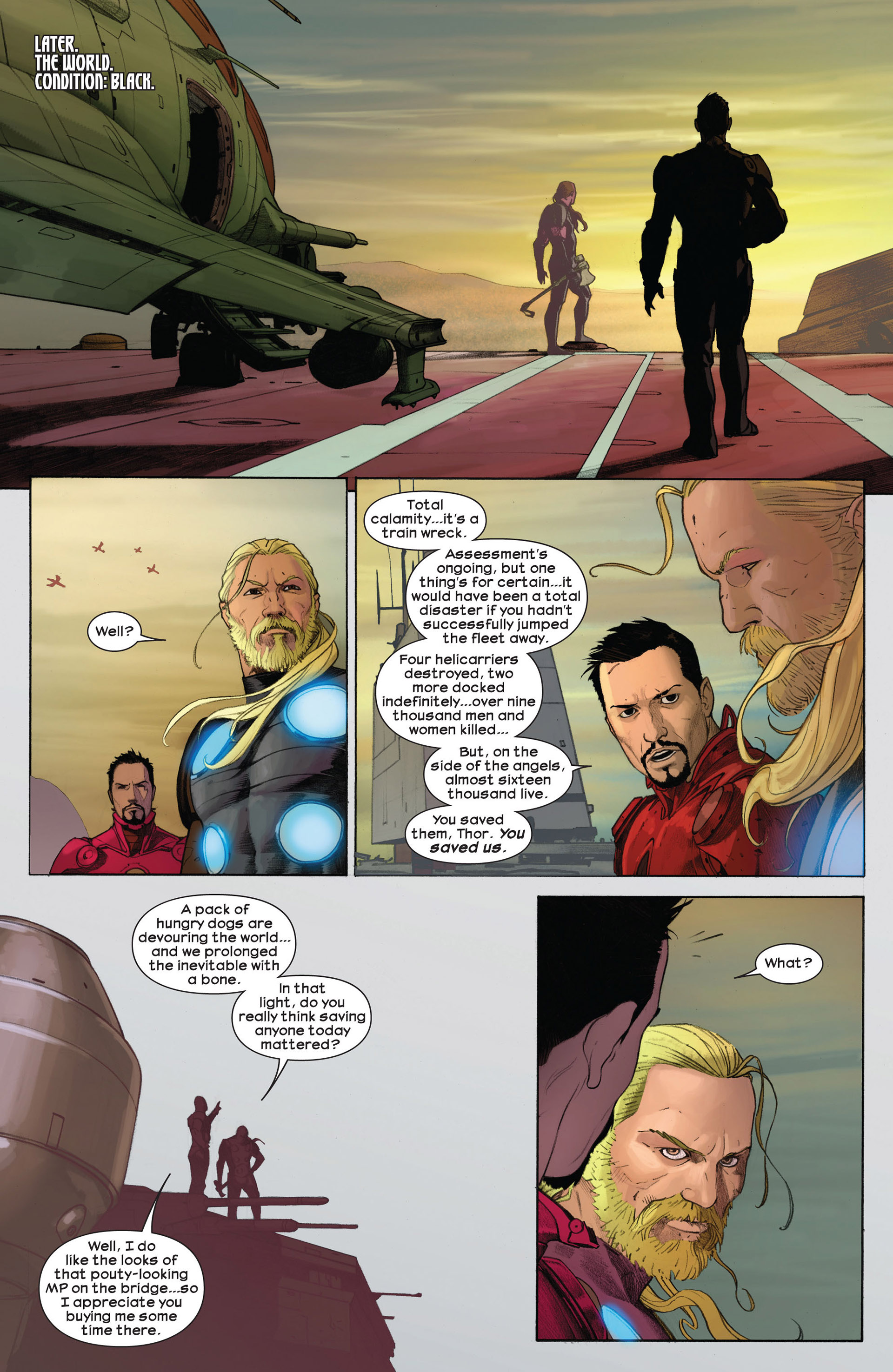 Read online Ultimate Comics Ultimates comic -  Issue #3 - 19