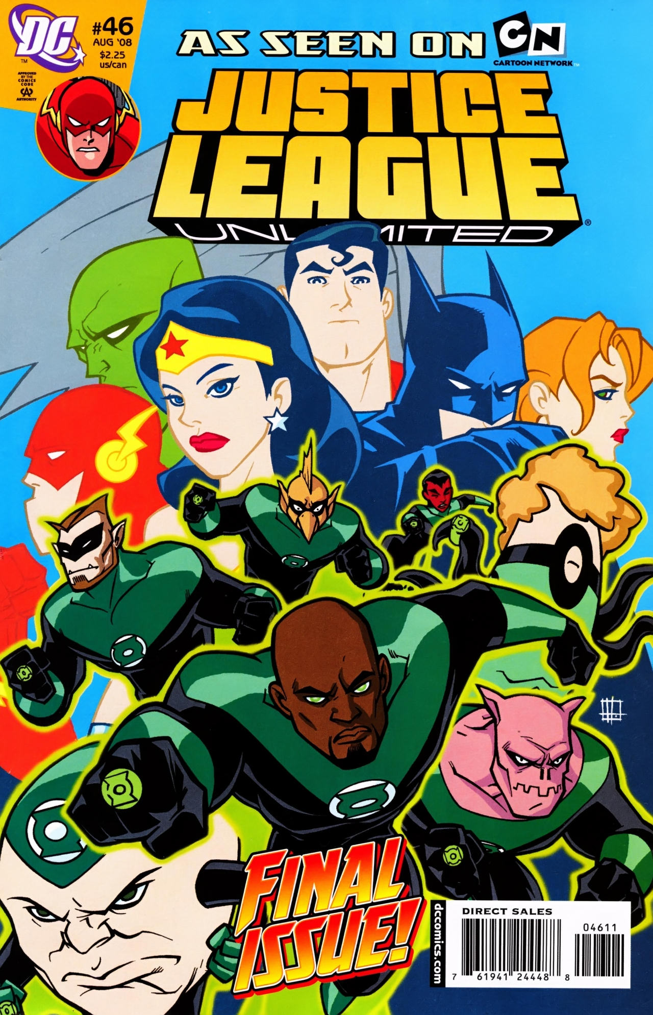 Justice League Unlimited 46 Page 1