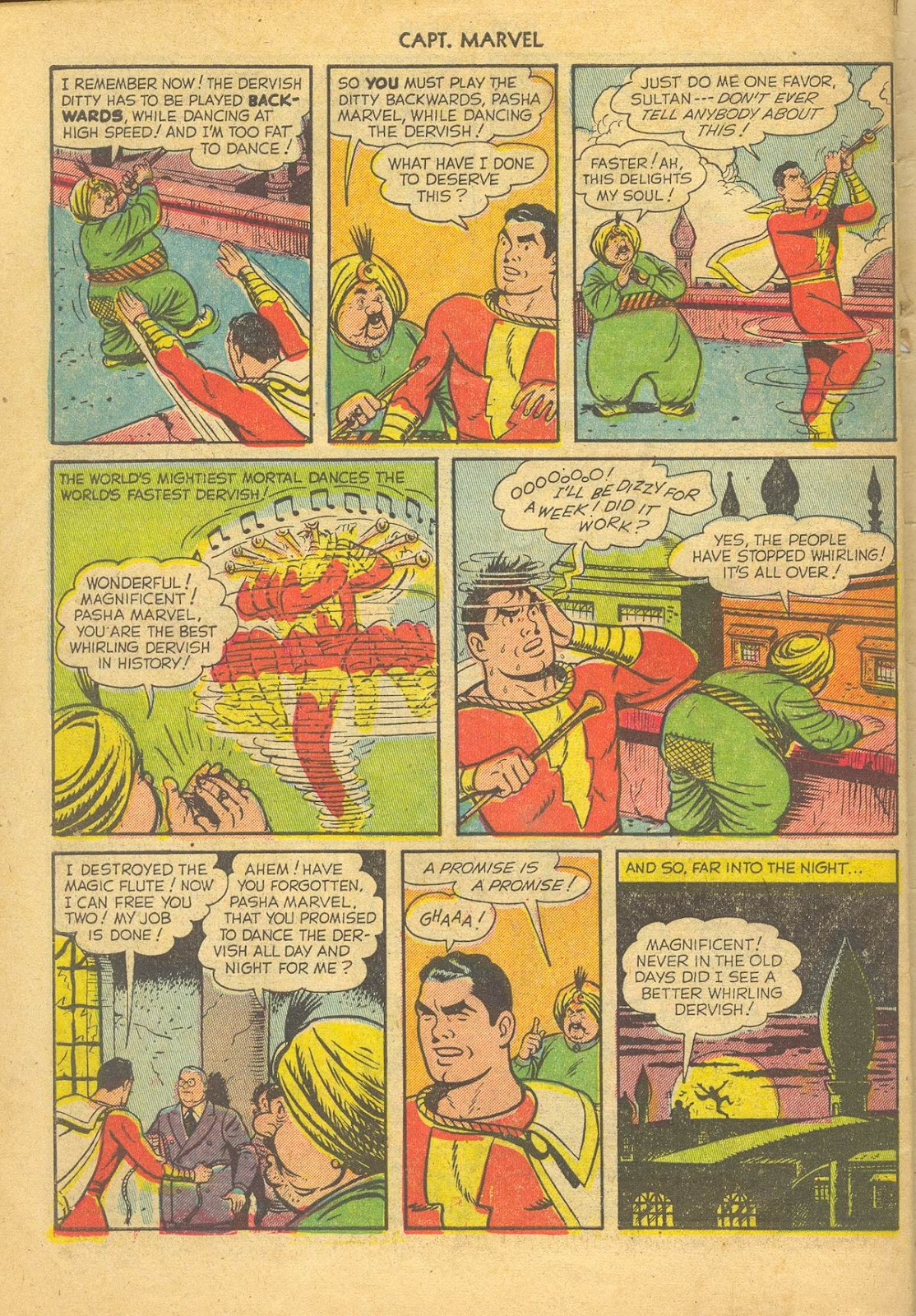 Captain Marvel Adventures issue 132 - Page 34