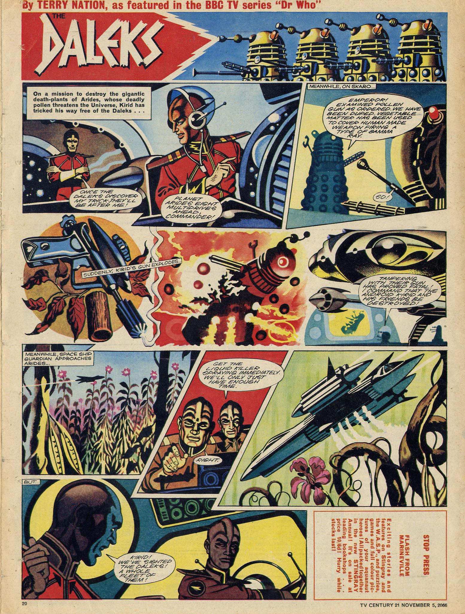 Read online TV Century 21 (TV 21) comic -  Issue #94 - 19