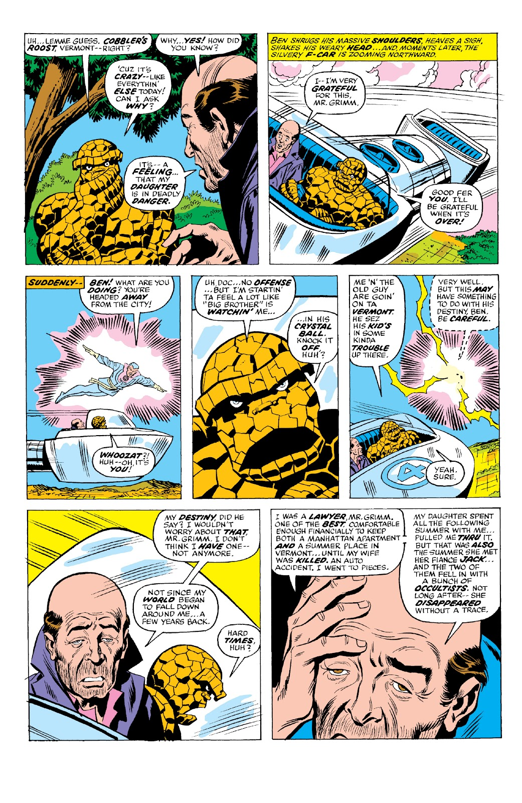 Read online Marvel Two-In-One Epic Collection: Cry Monster comic -  Issue # TPB (Part 2) - 71