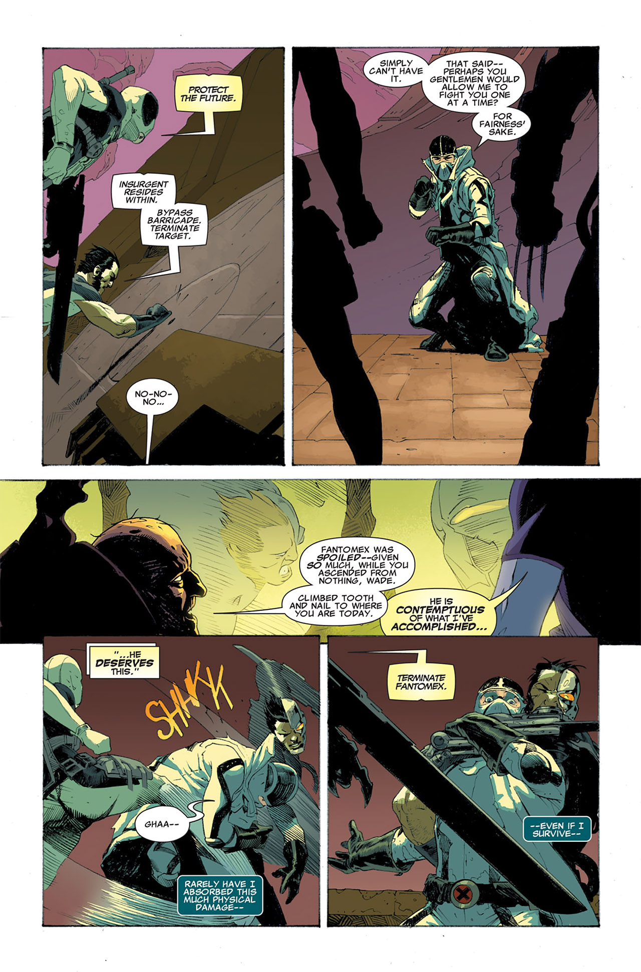 Read online Uncanny X-Force (2010) comic -  Issue #7 - 17