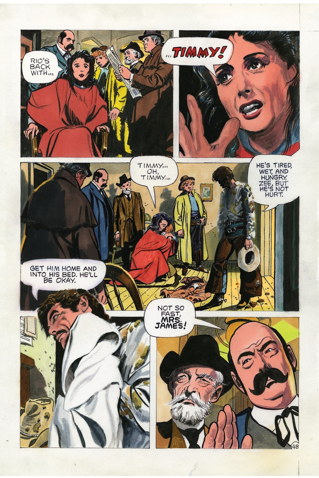 Read online Doug Wildey's Rio: The Complete Saga comic -  Issue # TPB (Part 2) - 13