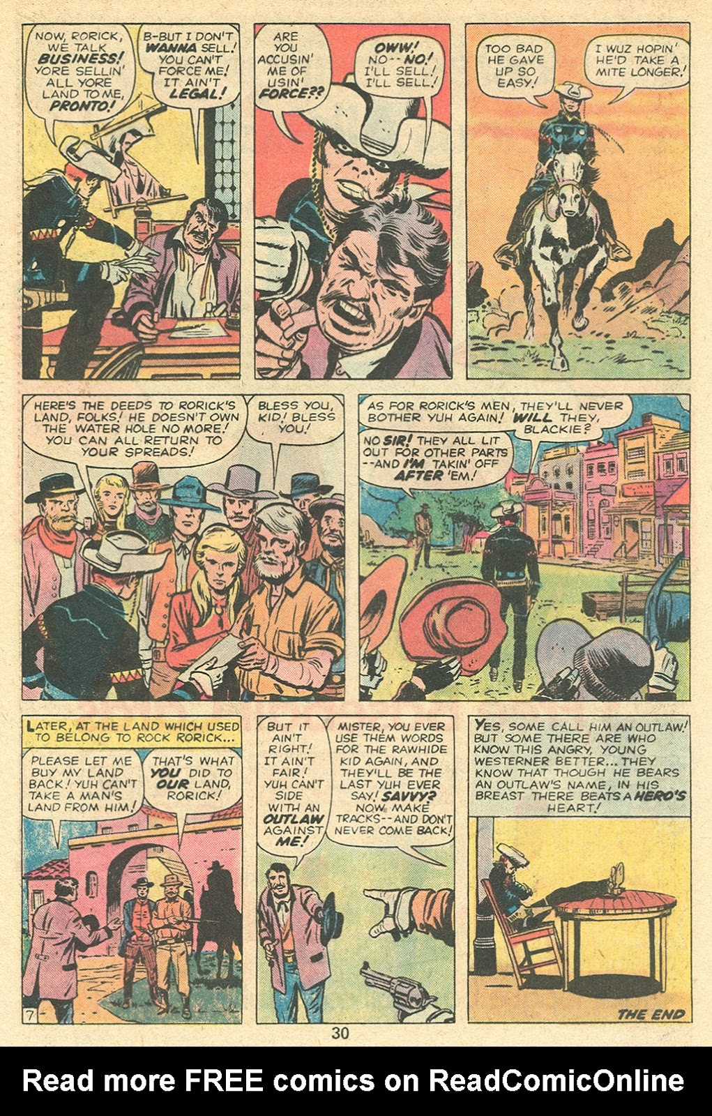 The Rawhide Kid (1955) issue 141 - Page 32