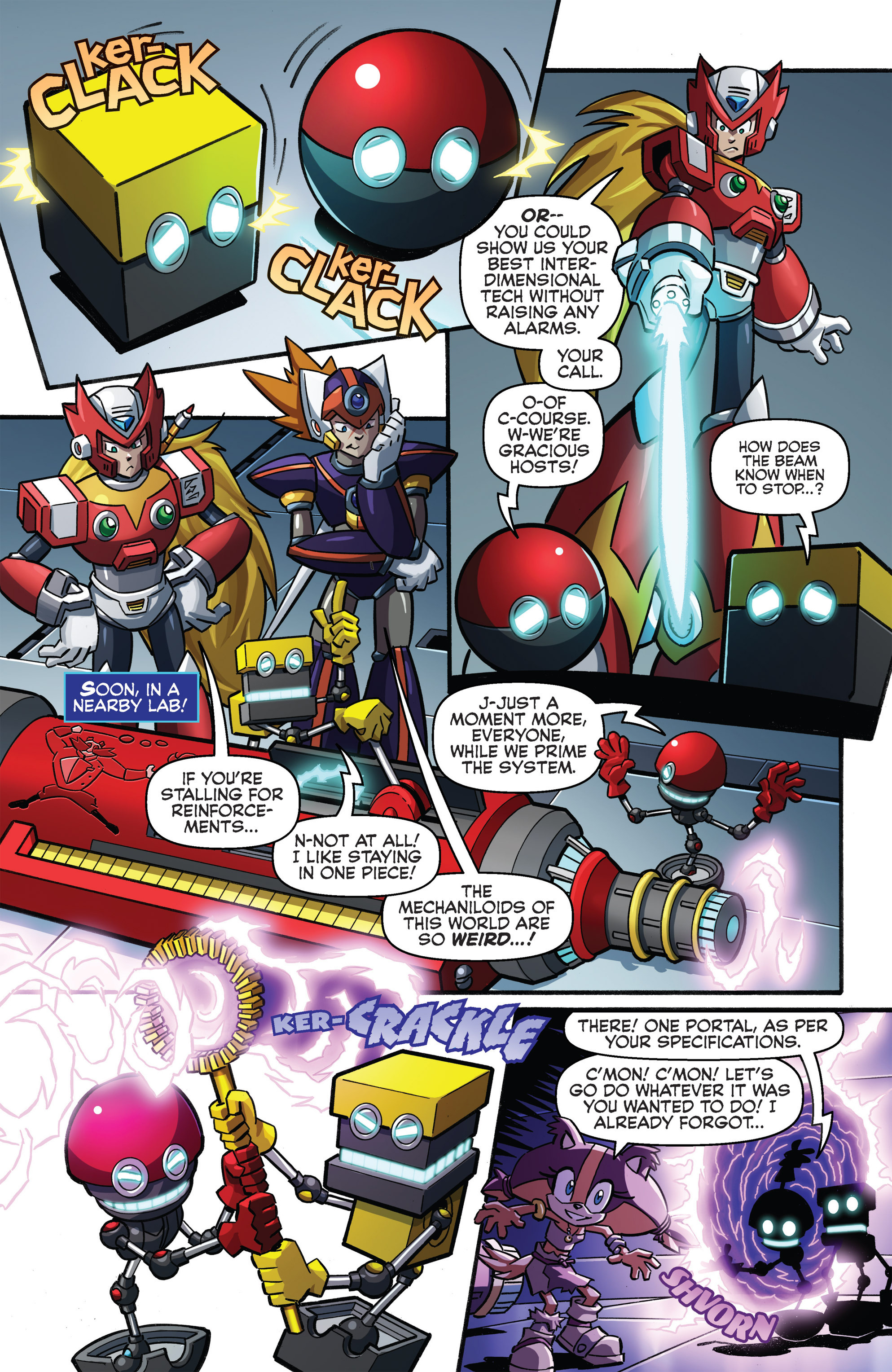 Read online Sonic Boom comic -  Issue #8 - 9