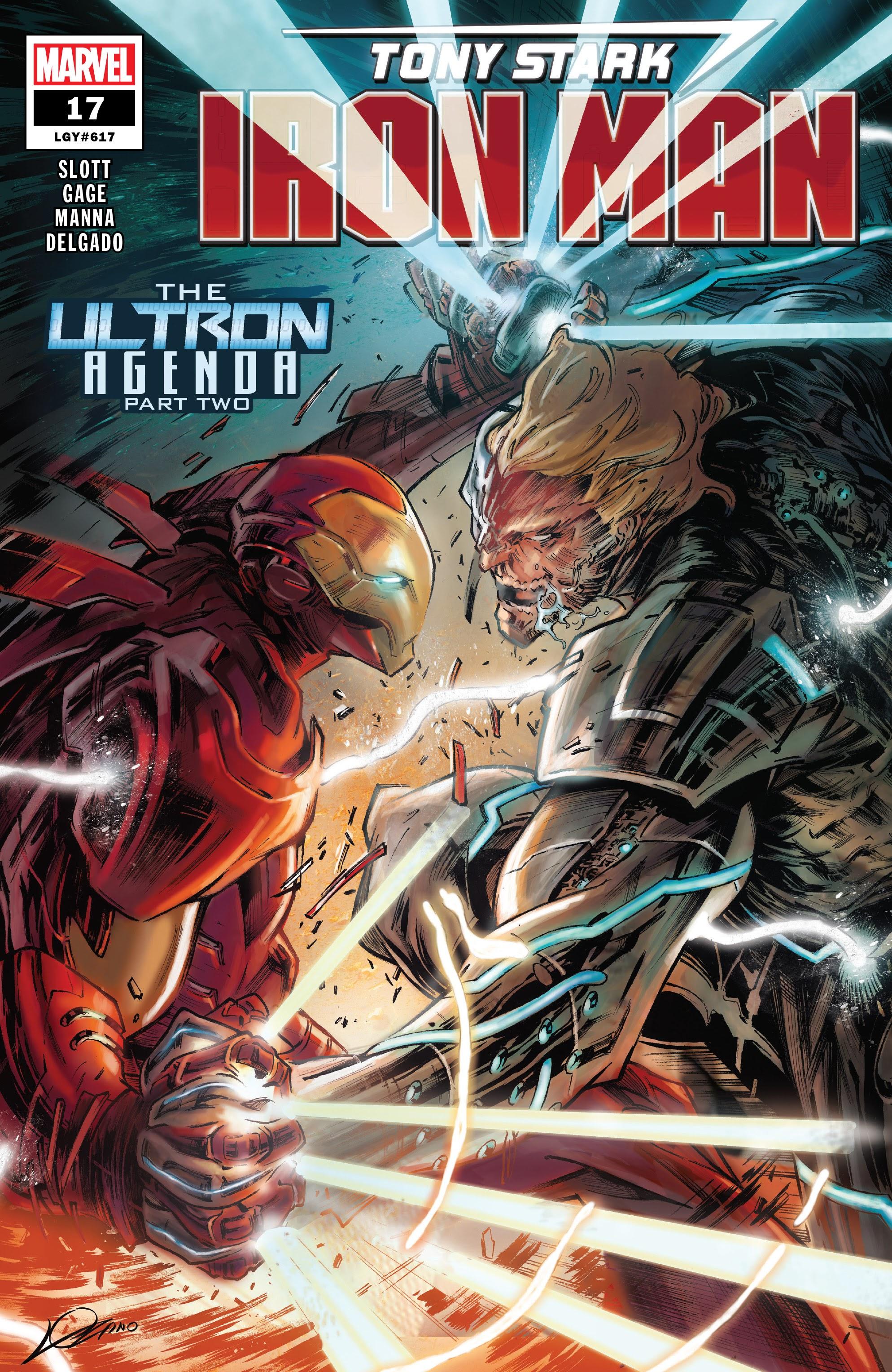Tony Stark: Iron Man 17 Page 1