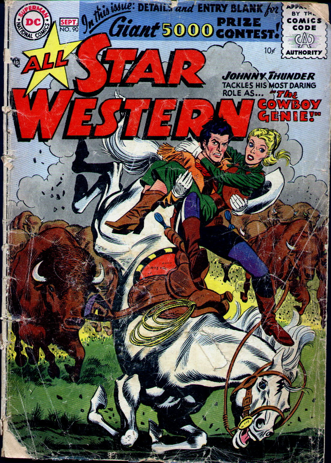 Read online All-Star Western (1951) comic -  Issue #90 - 1