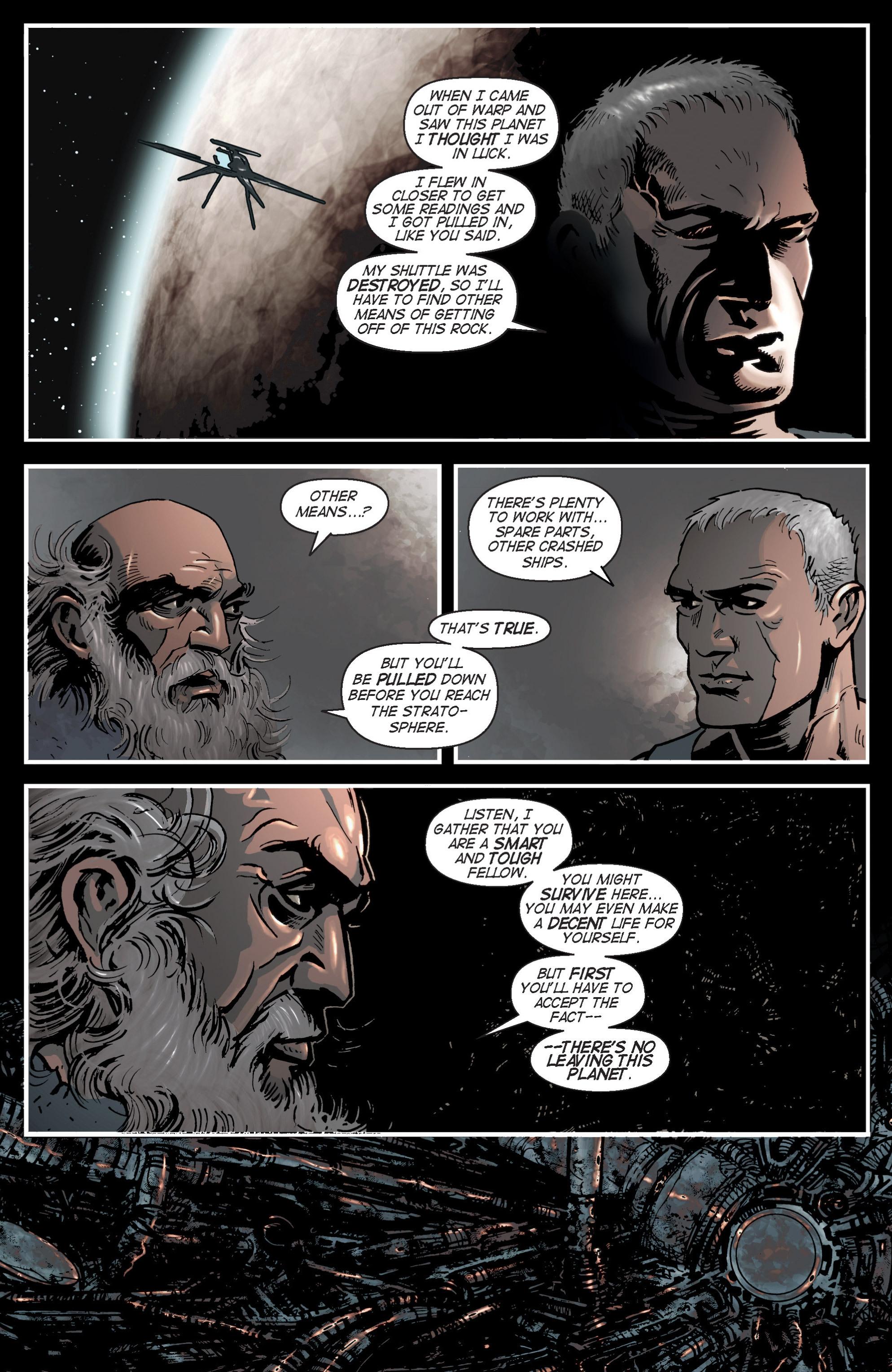 Read online Planetoid comic -  Issue # TPB - 38