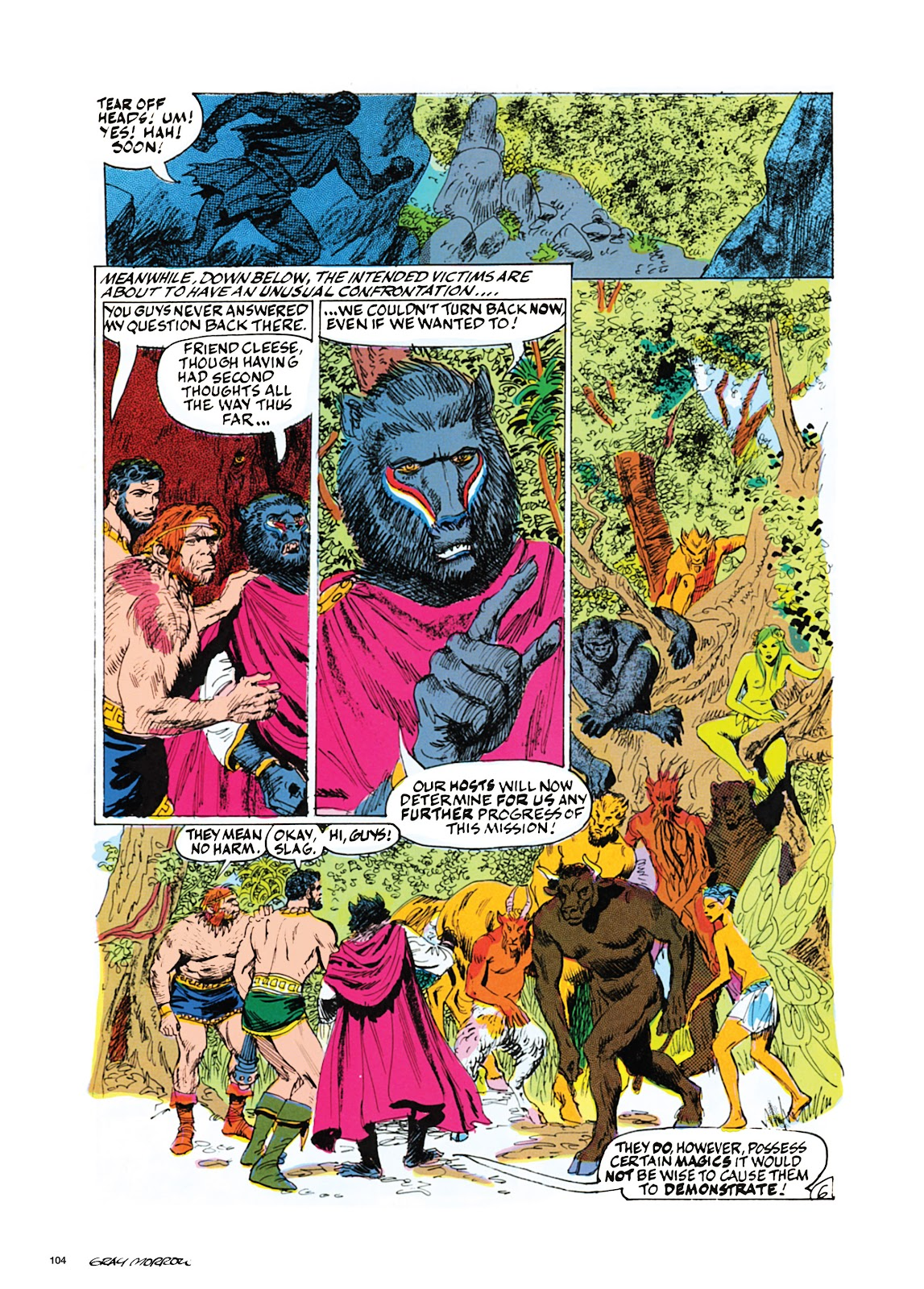 Read online Orion and Edge of Chaos comic -  Issue # TPB - 105