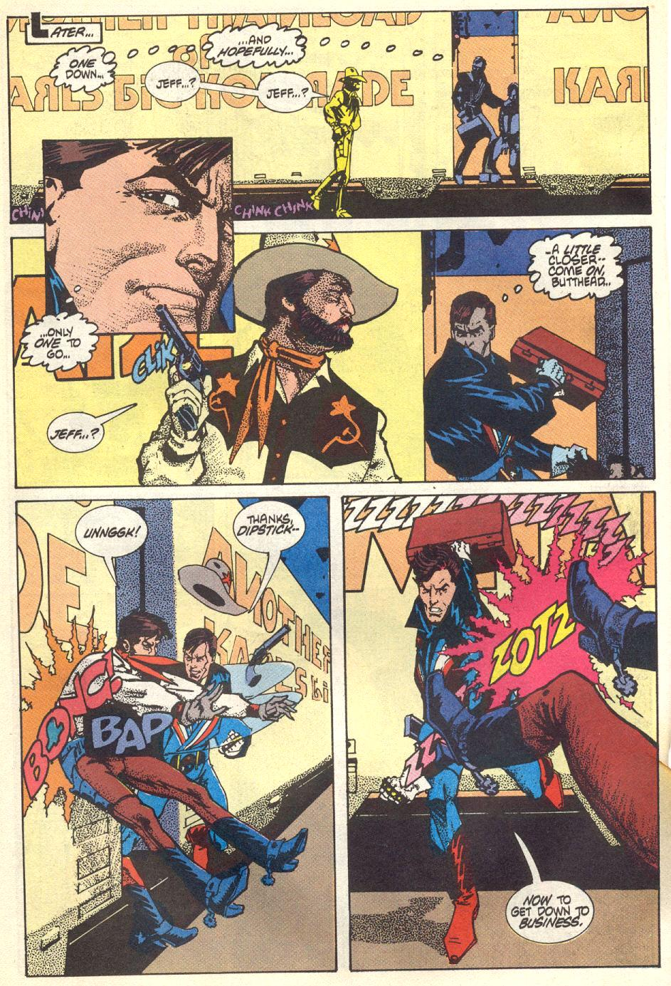 Read online American Flagg! comic -  Issue #17 - 19