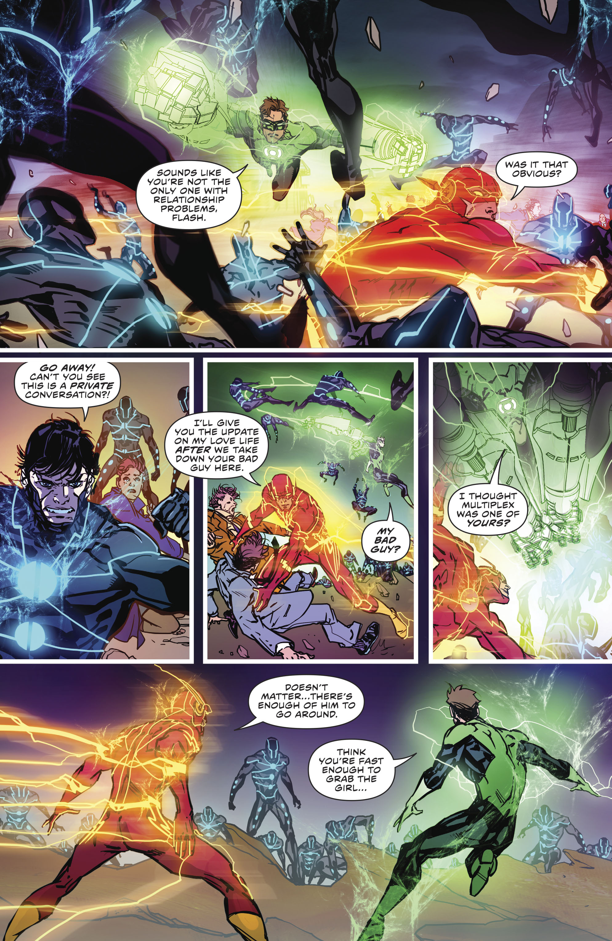 Read online The Flash (2016) comic -  Issue #23 - 18