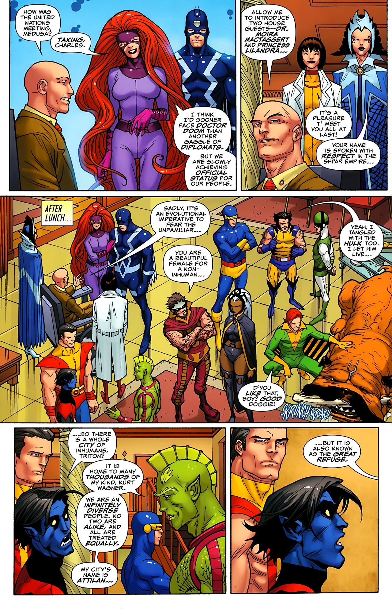 Read online Uncanny X-Men: First Class comic -  Issue #1 - 10