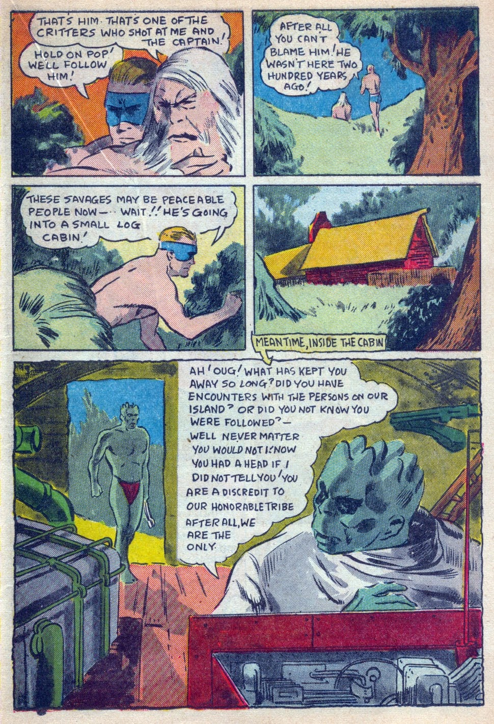 Read online Amazing Man Comics comic -  Issue #15 - 36