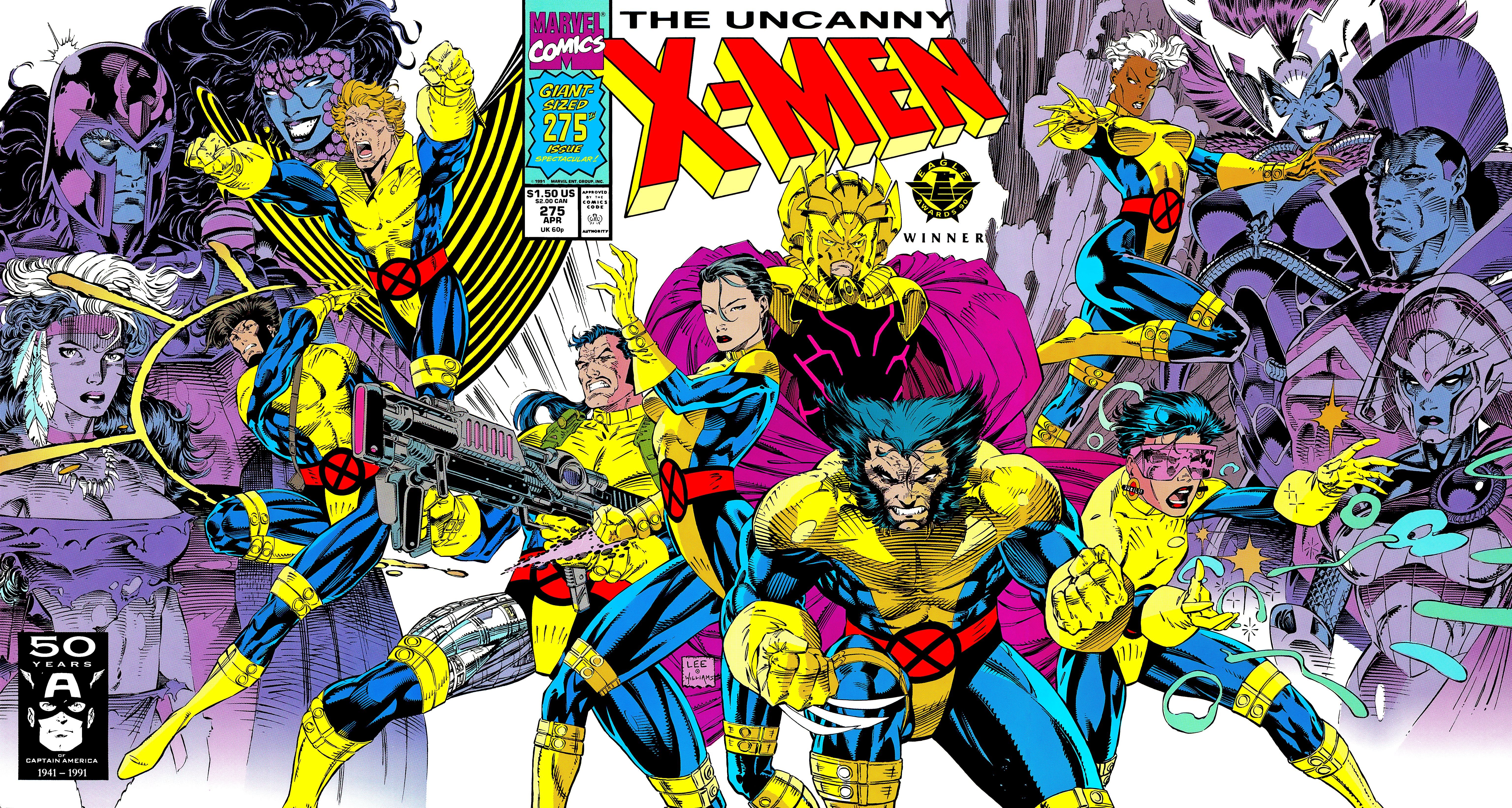 Uncanny X-Men (1963) 275 Page 1