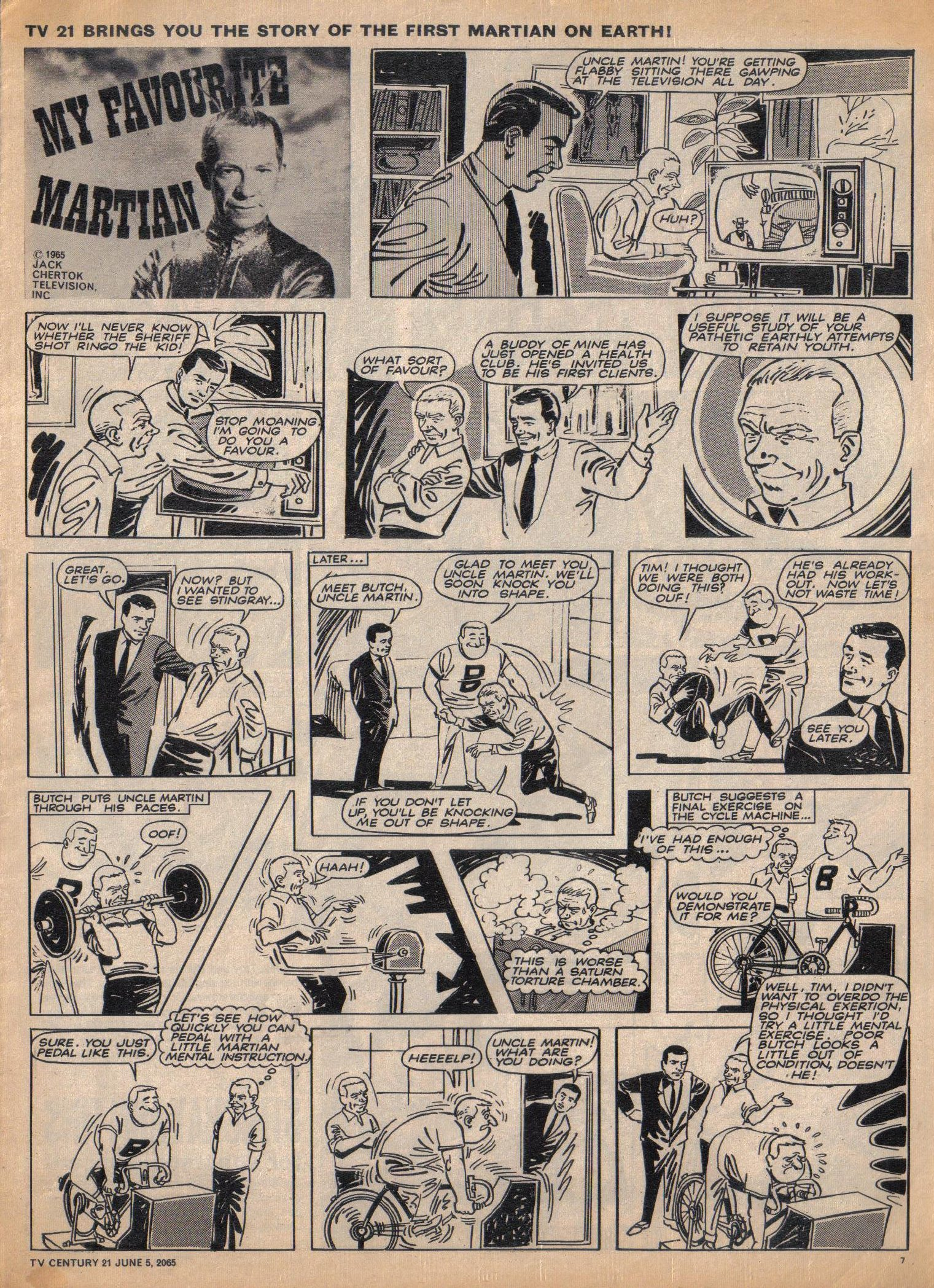 Read online TV Century 21 (TV 21) comic -  Issue #20 - 7