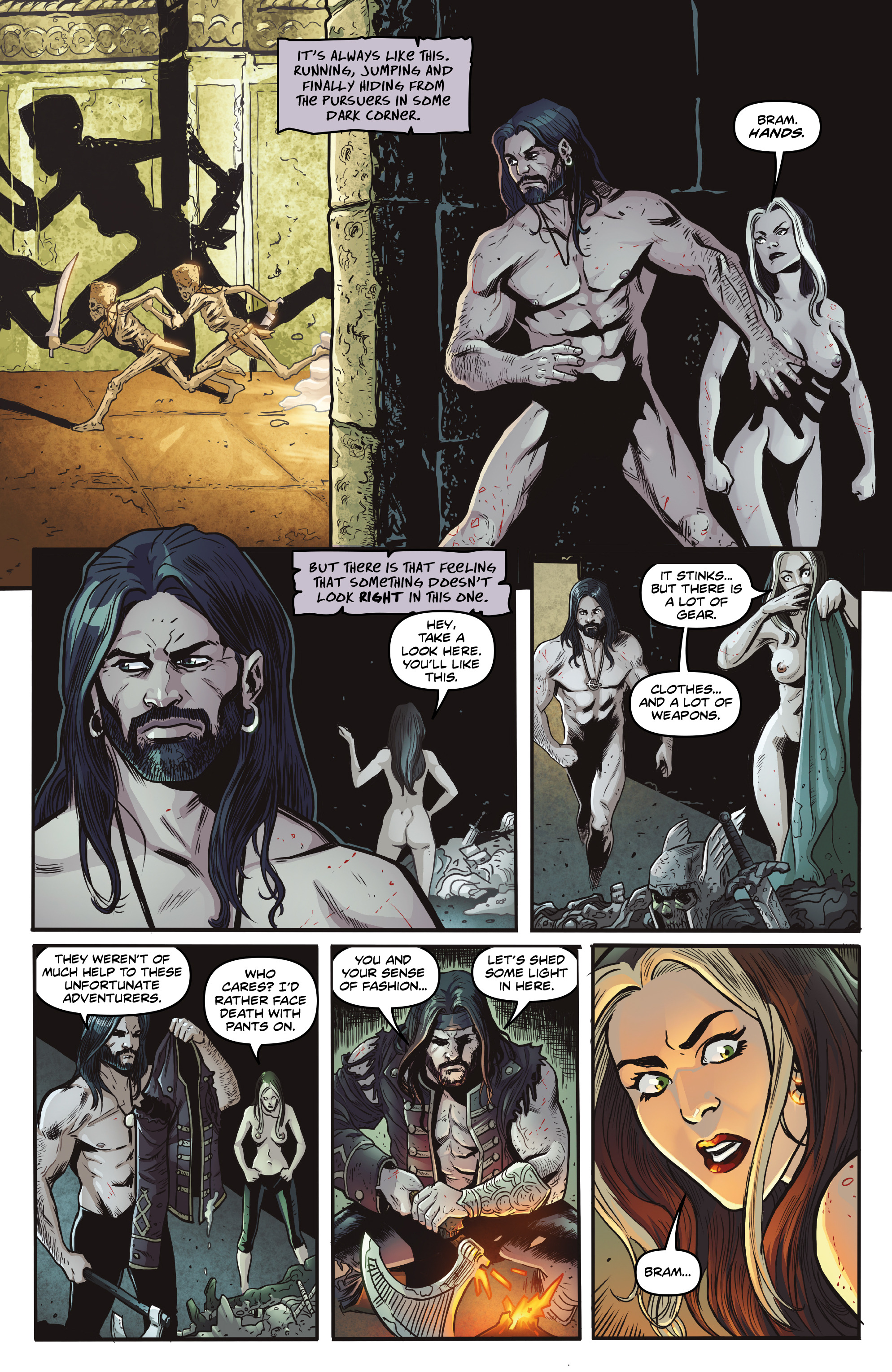 Read online Rogues!: The Burning Heart comic -  Issue #5 - 6