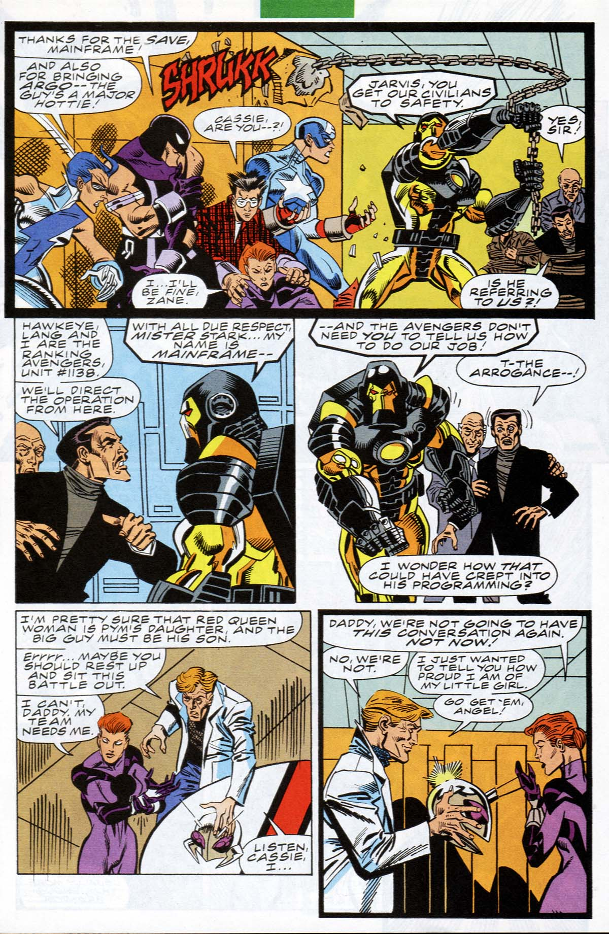 Read online A-Next comic -  Issue #12 - 10
