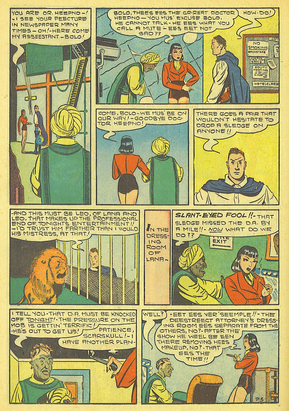 Read online Amazing Man Comics comic -  Issue #19 - 26