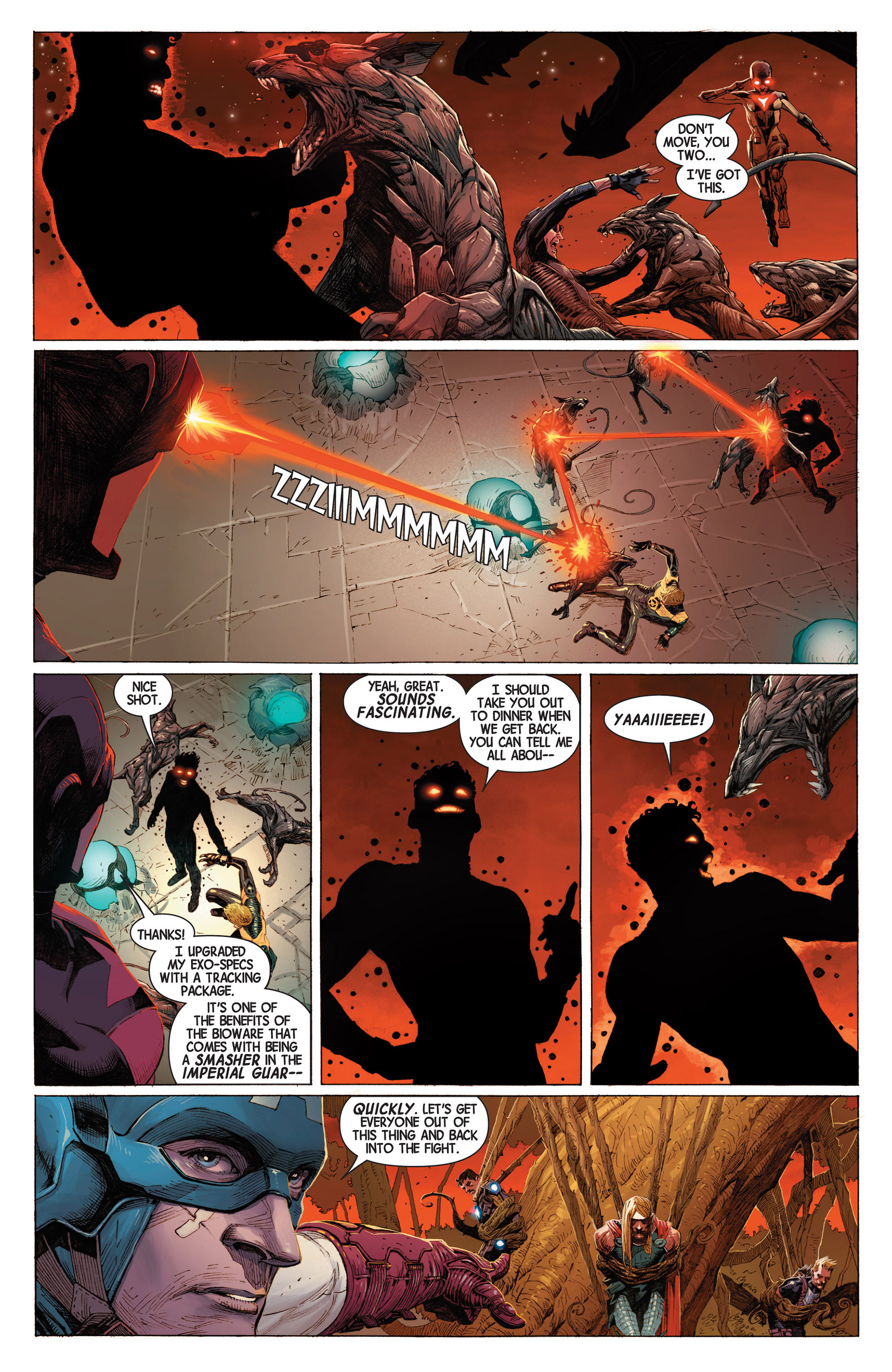 Read online Avengers (2013) comic -  Issue #3 - 15