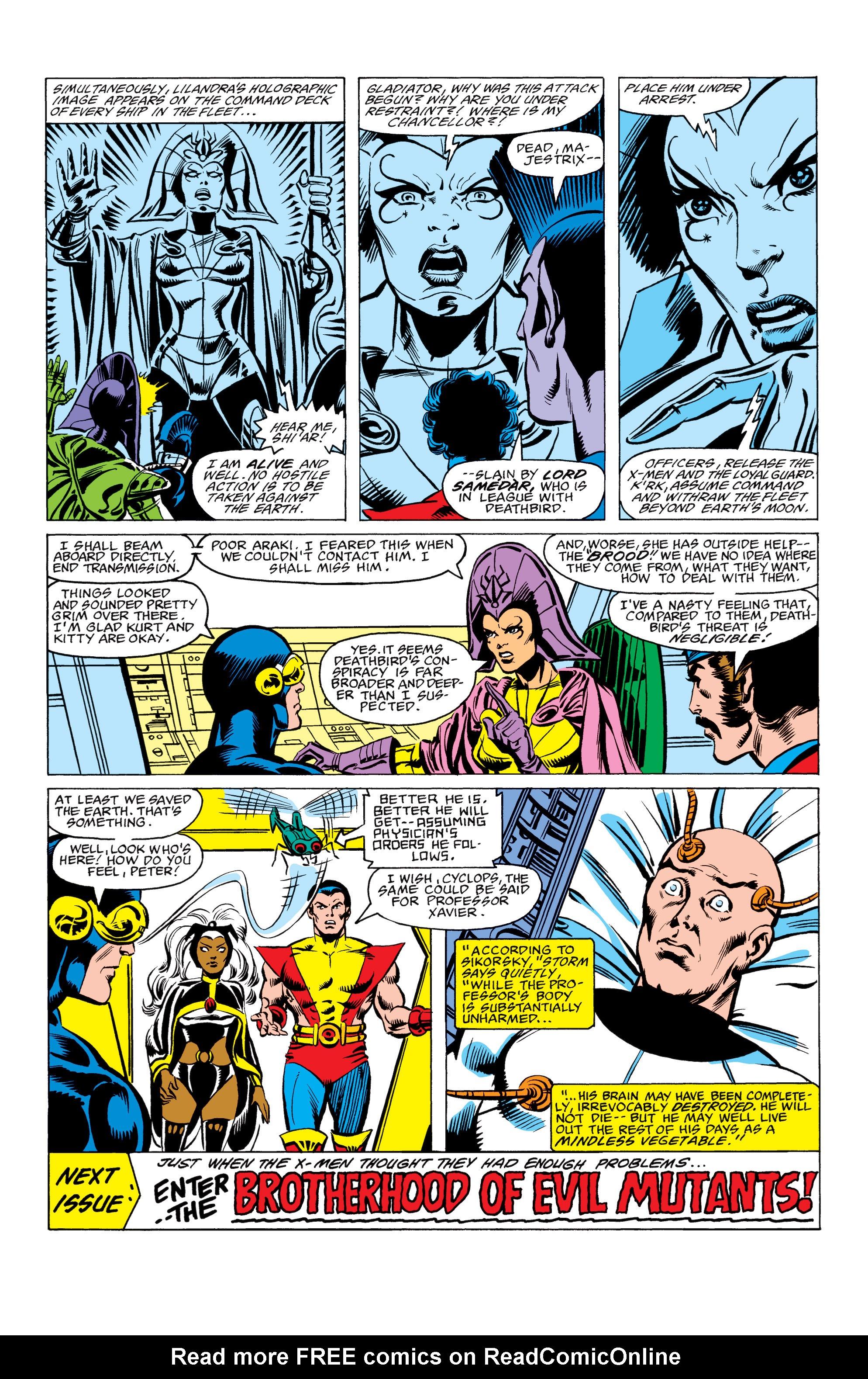 Read online Uncanny X-Men (1963) comic -  Issue #157 - 23