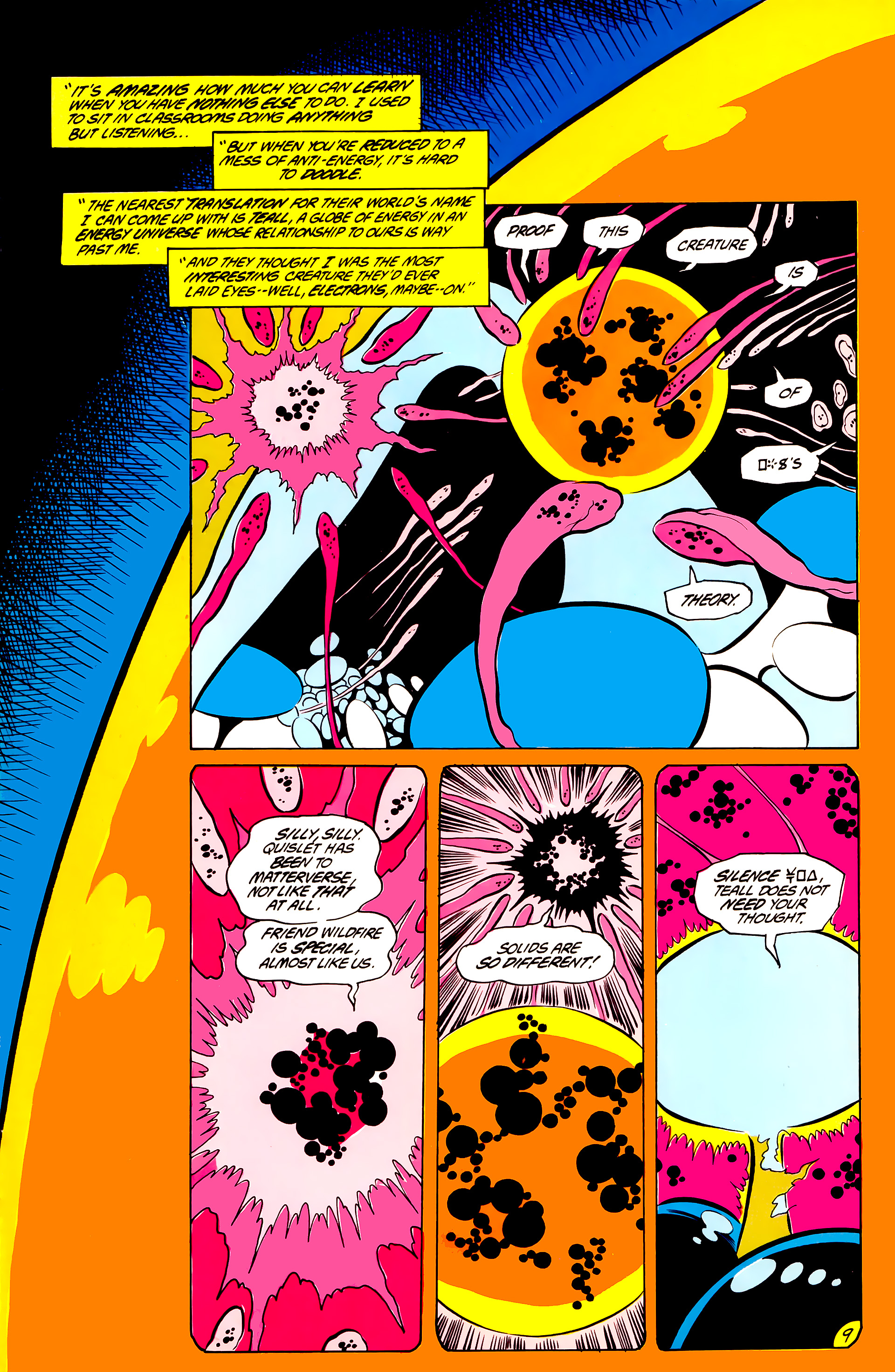 Legion of Super-Heroes (1984) 44 Page 9