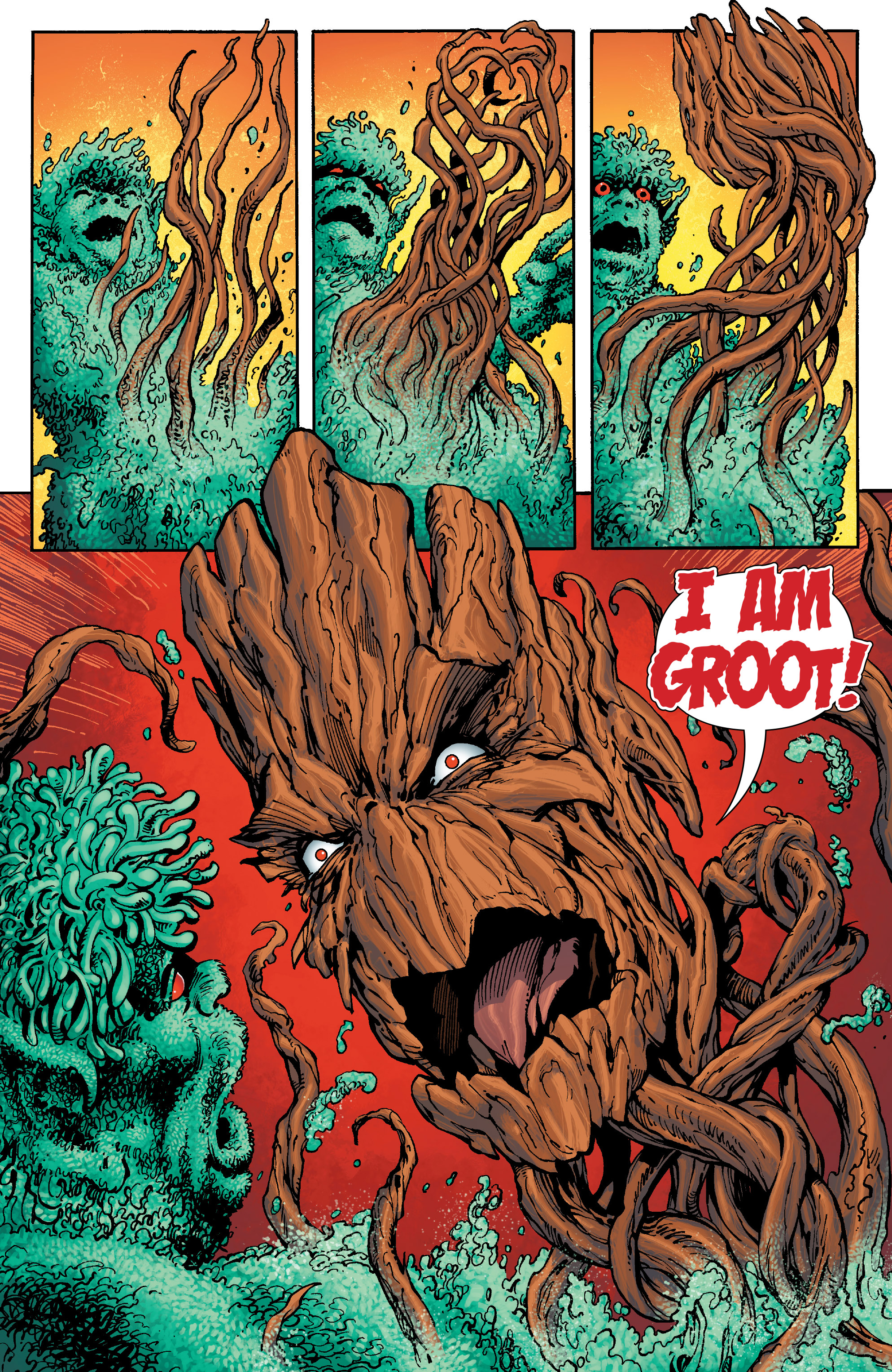 Read online Guardians of the Galaxy: Mother Entropy comic -  Issue #5 - 12