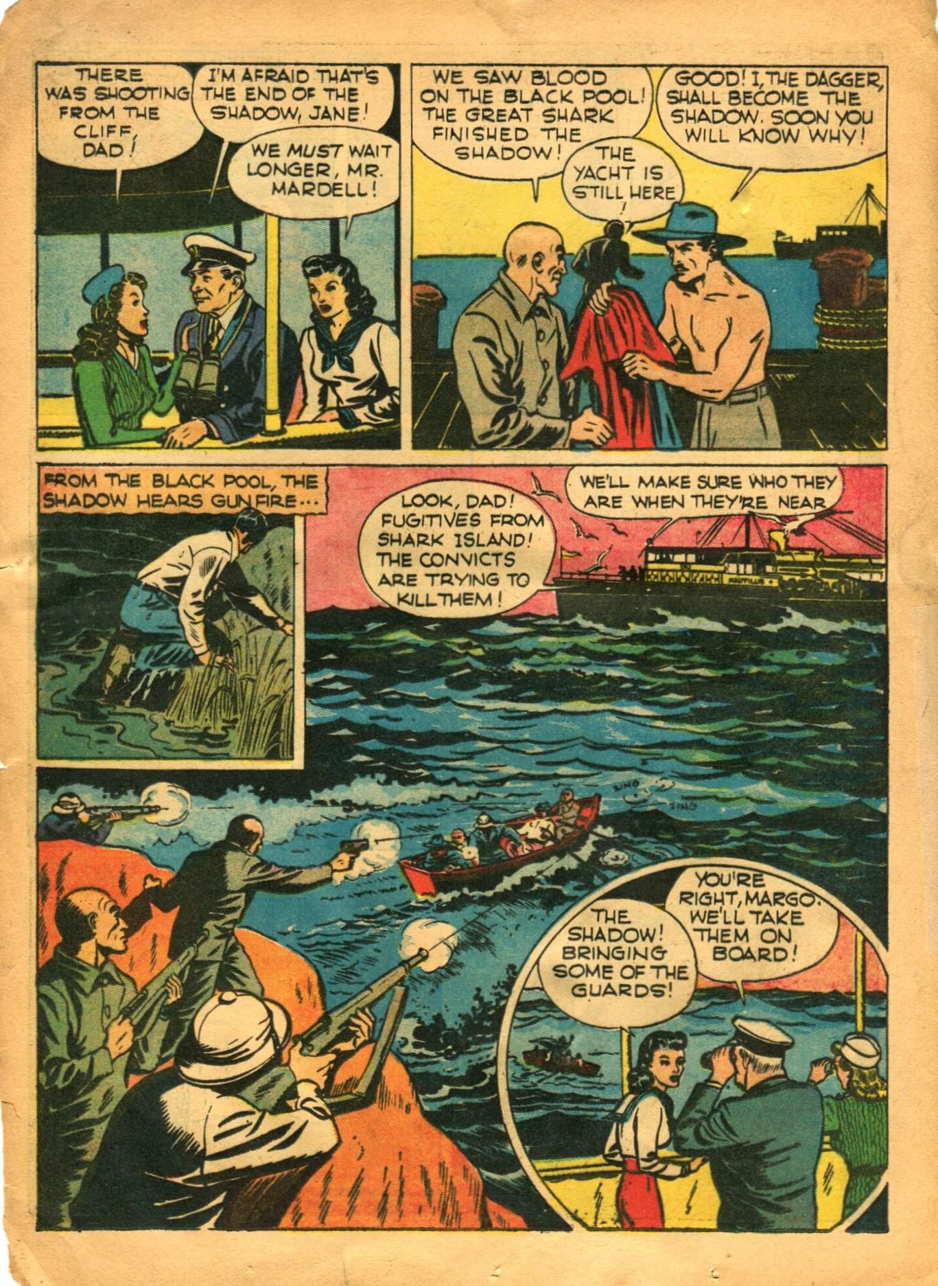 Read online Shadow Comics comic -  Issue #12 - 20