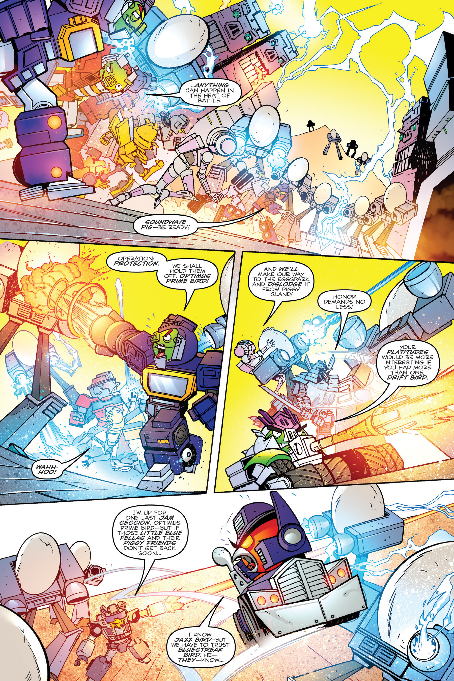 Read online Angry Birds Transformers: Age of Eggstinction comic -  Issue # Full - 75