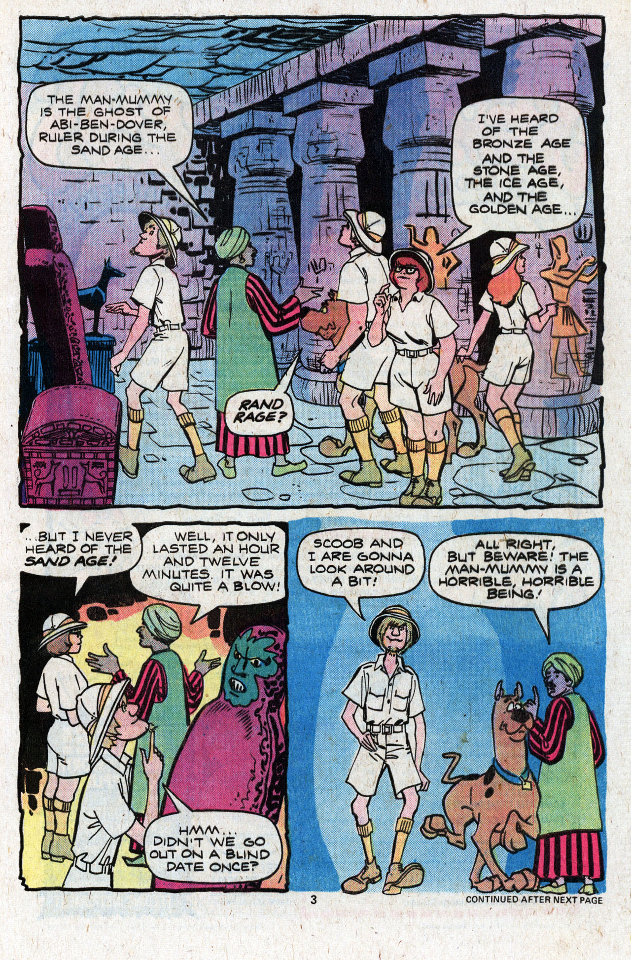 Read online Scooby-Doo (1977) comic -  Issue #4 - 5