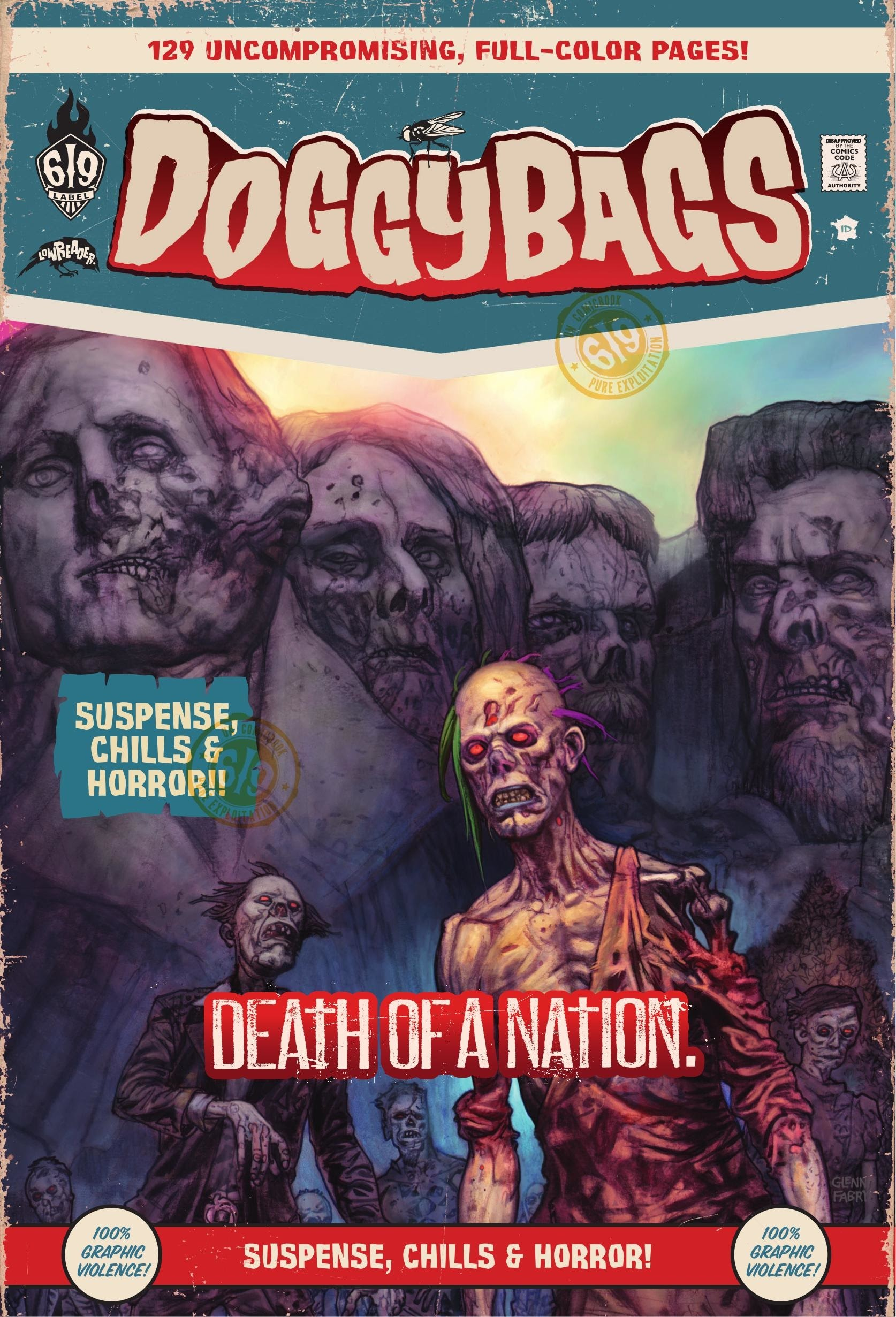 Doggybags: Death of A Nation issue TPB - Page 1