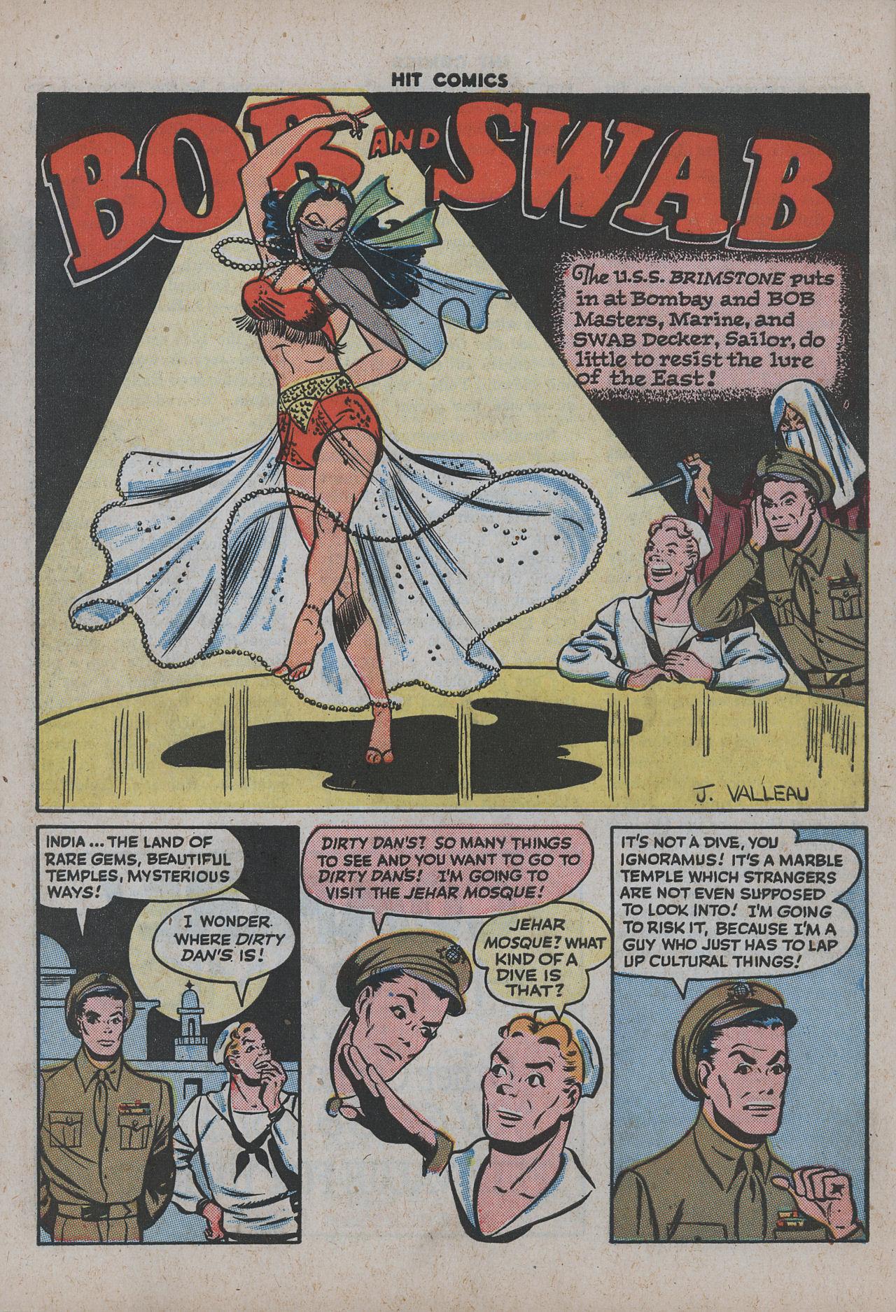 Read online Hit Comics comic -  Issue #38 - 49
