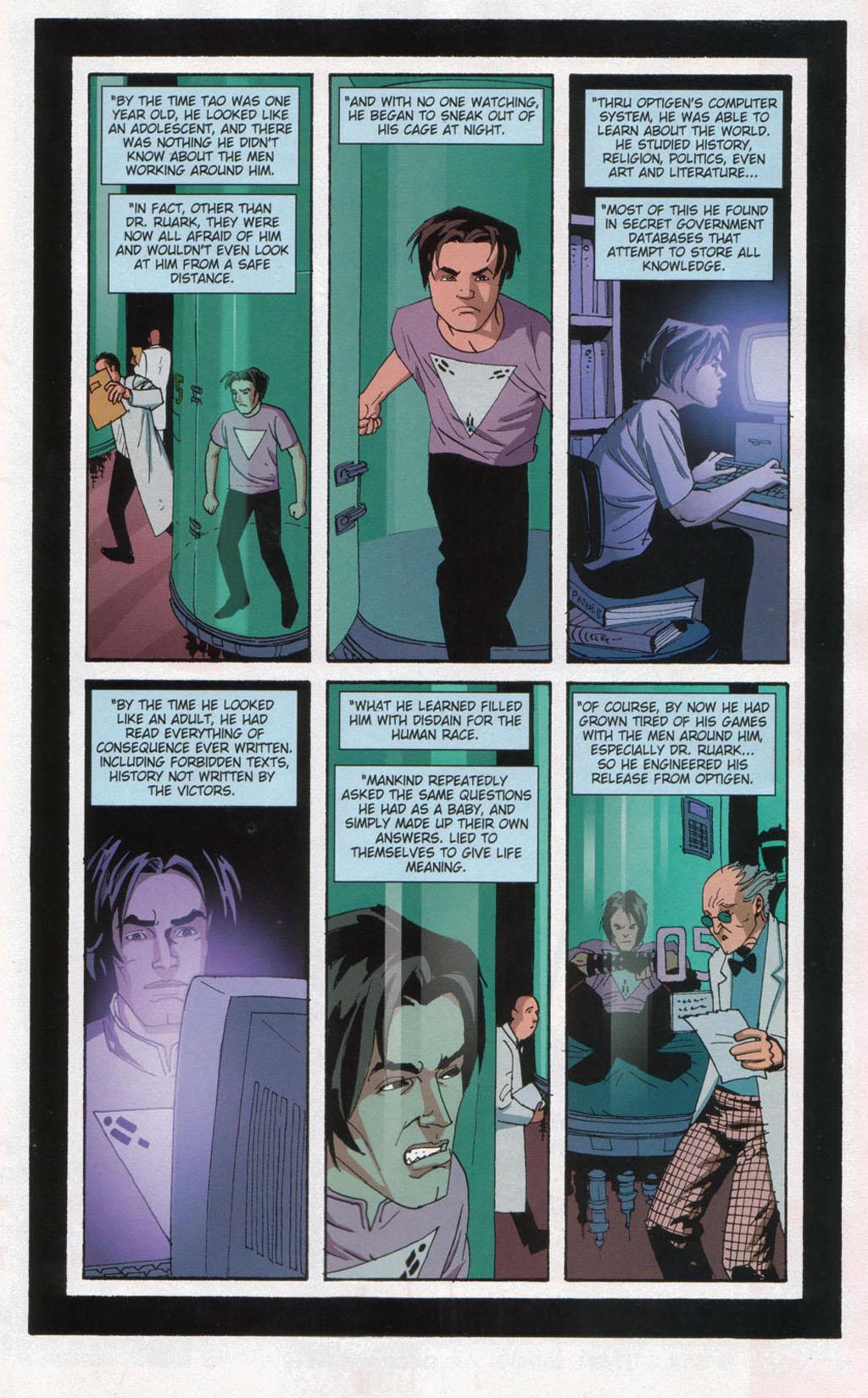 Read online Sleeper comic -  Issue #12 - 15