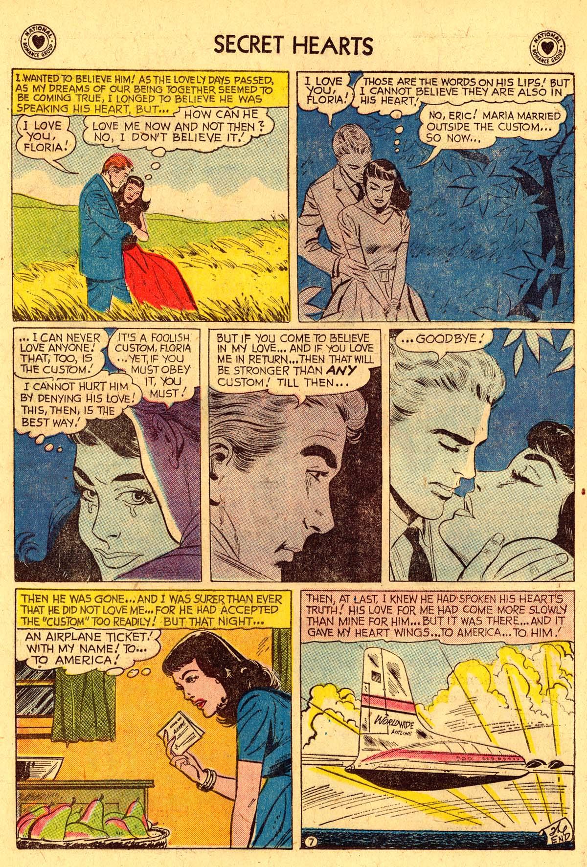 Read online Secret Hearts comic -  Issue #57 - 24