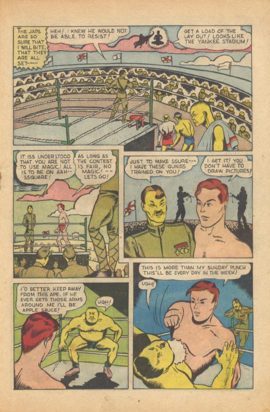 Read online Super-Magician Comics comic -  Issue #37 - 26