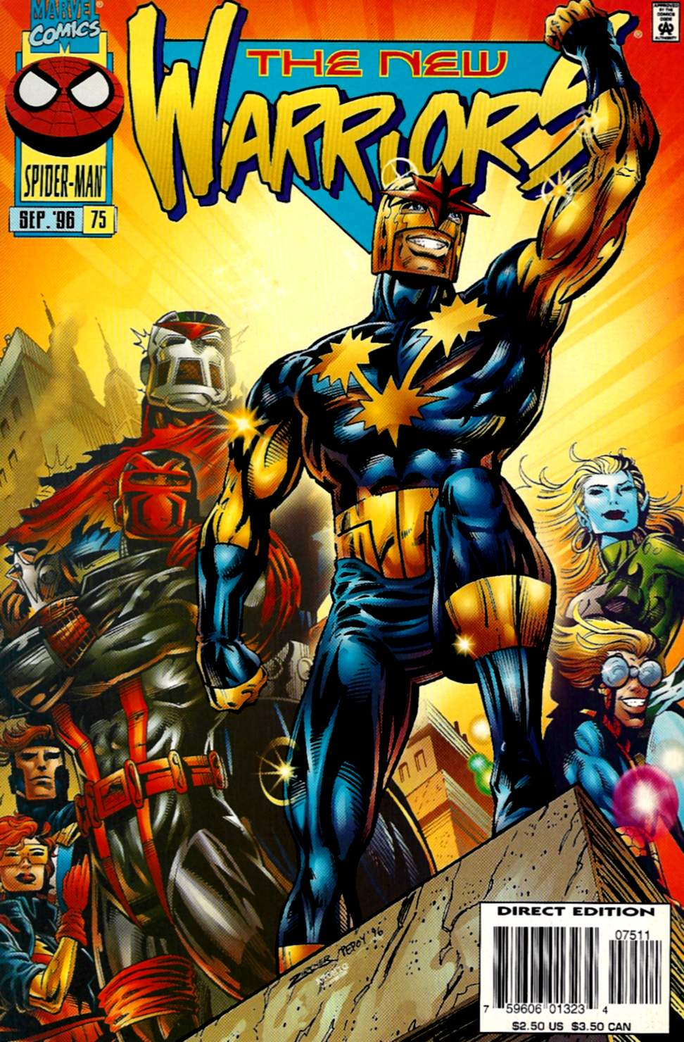 The New Warriors Issue #75 #79 - English 1