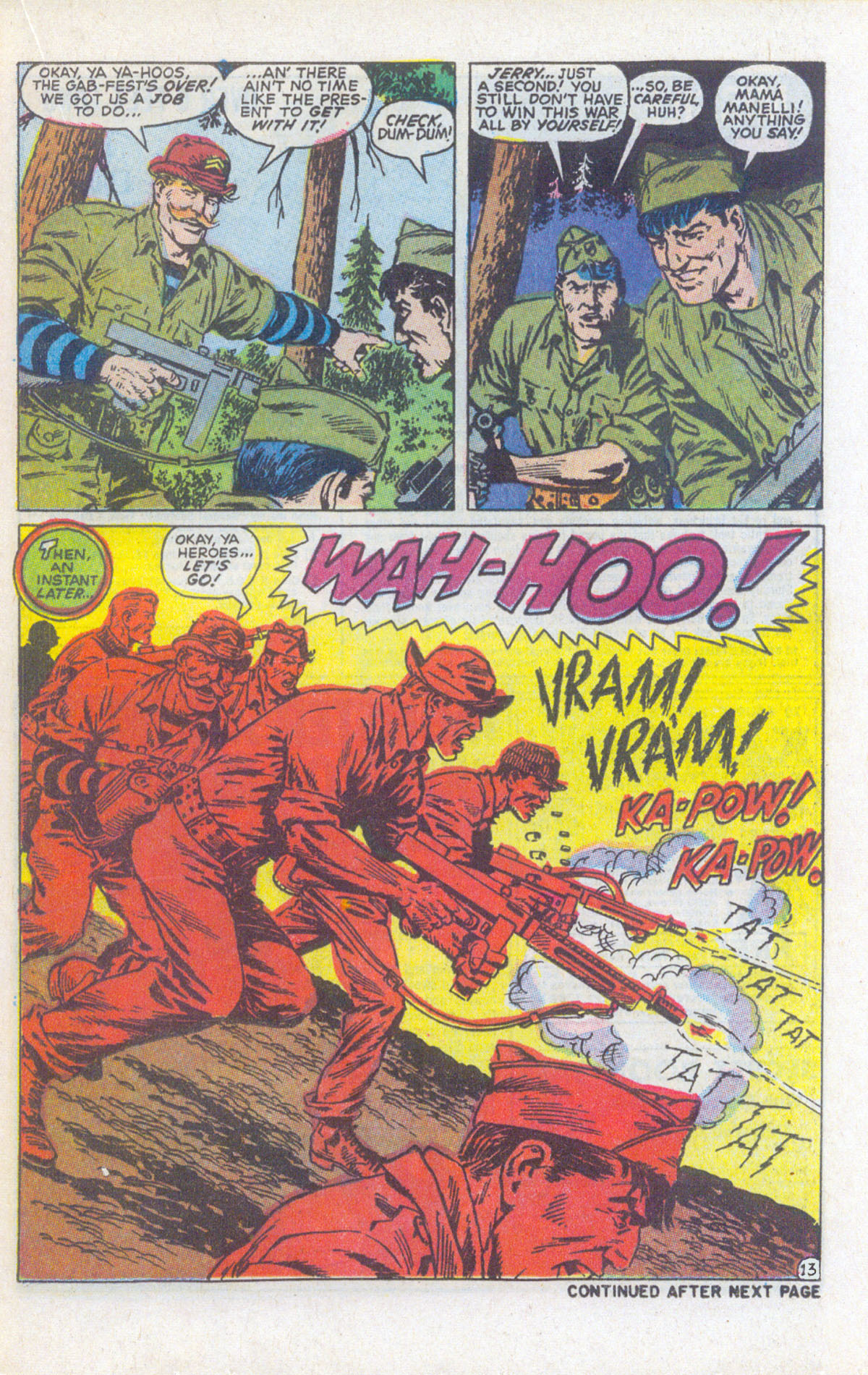 Read online Sgt. Fury comic -  Issue #159 - 20