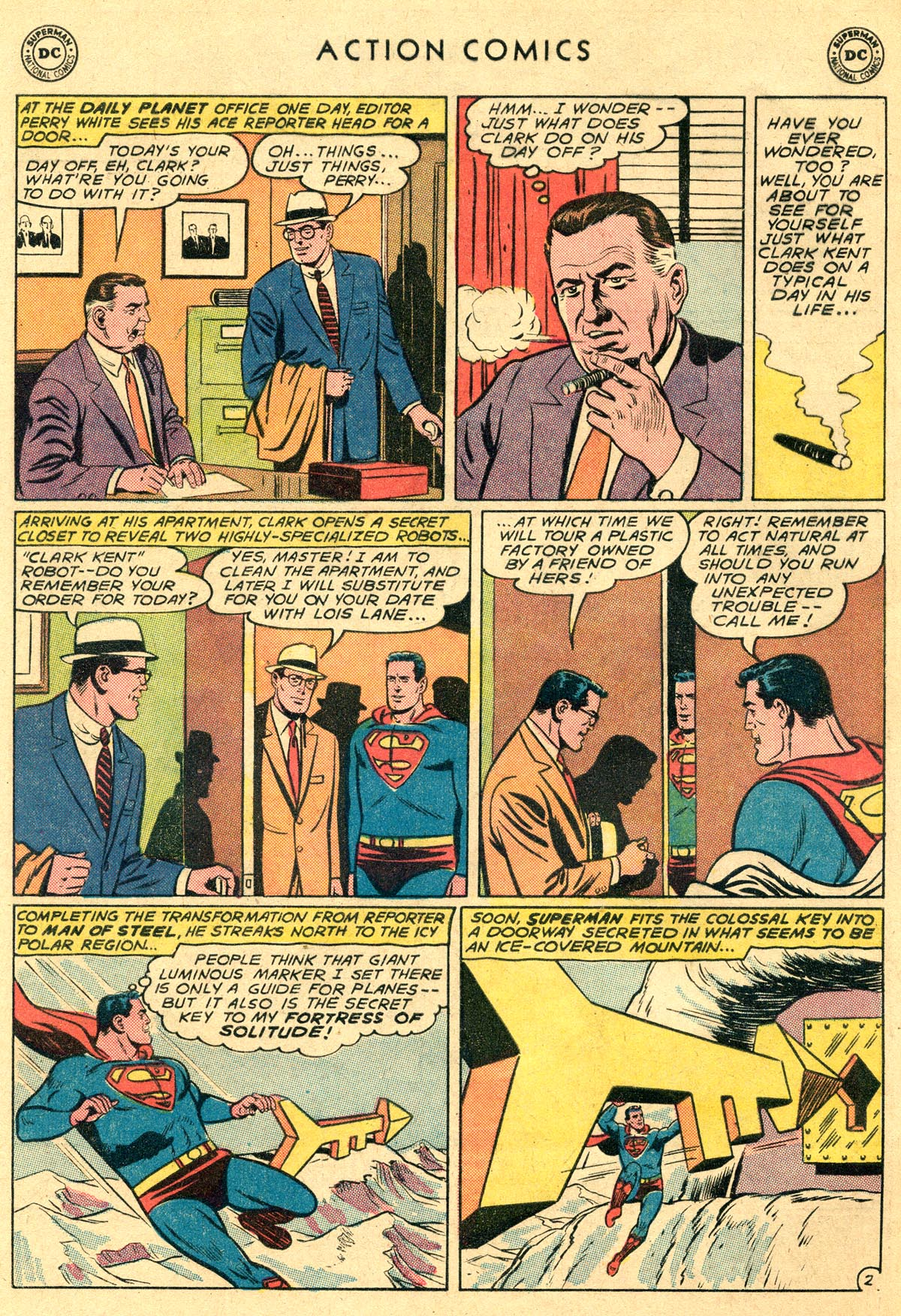 Action Comics (1938) 282 Page 3