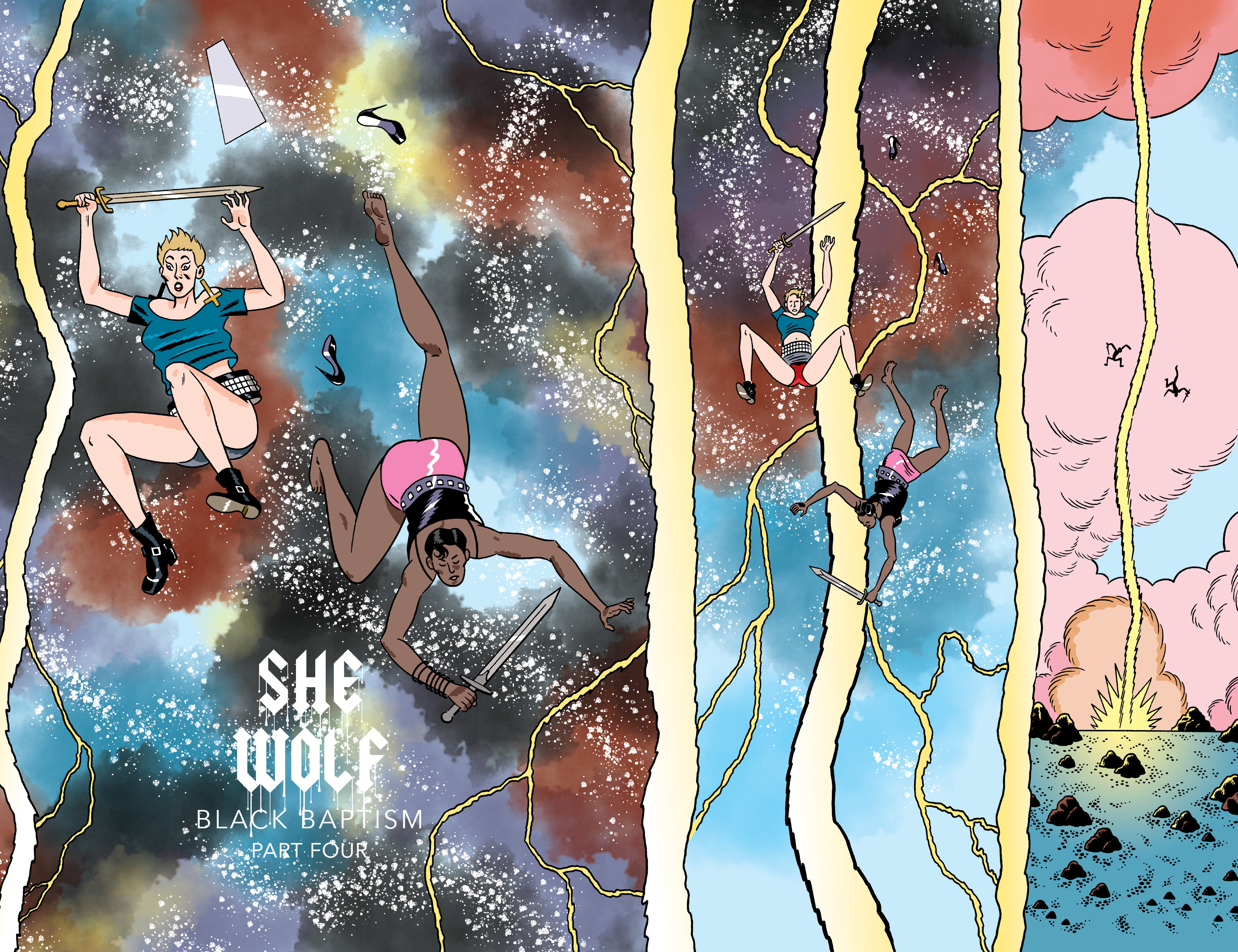 Read online She Wolf comic -  Issue #7 - 2