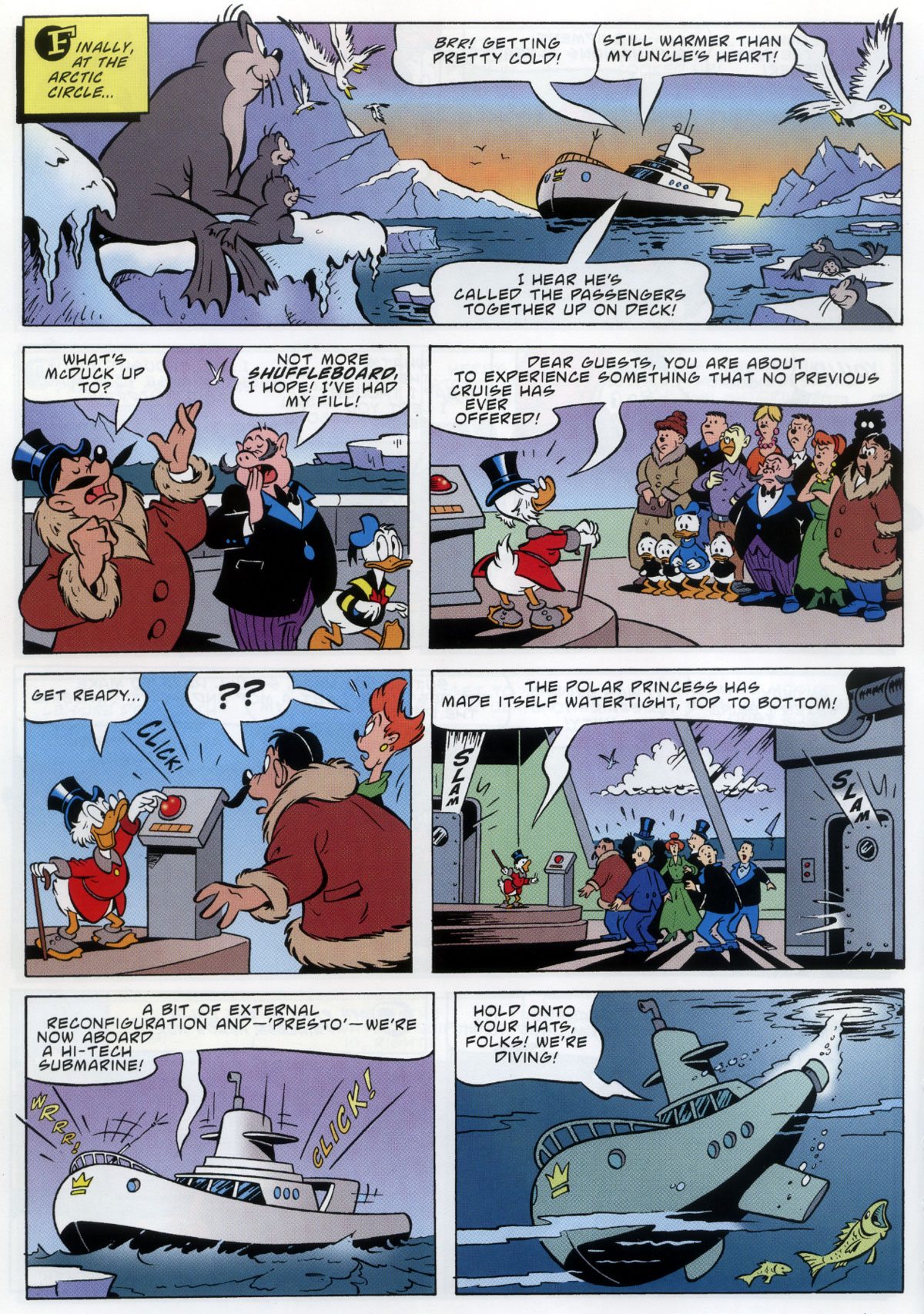 Read online Uncle Scrooge (1953) comic -  Issue #333 - 8