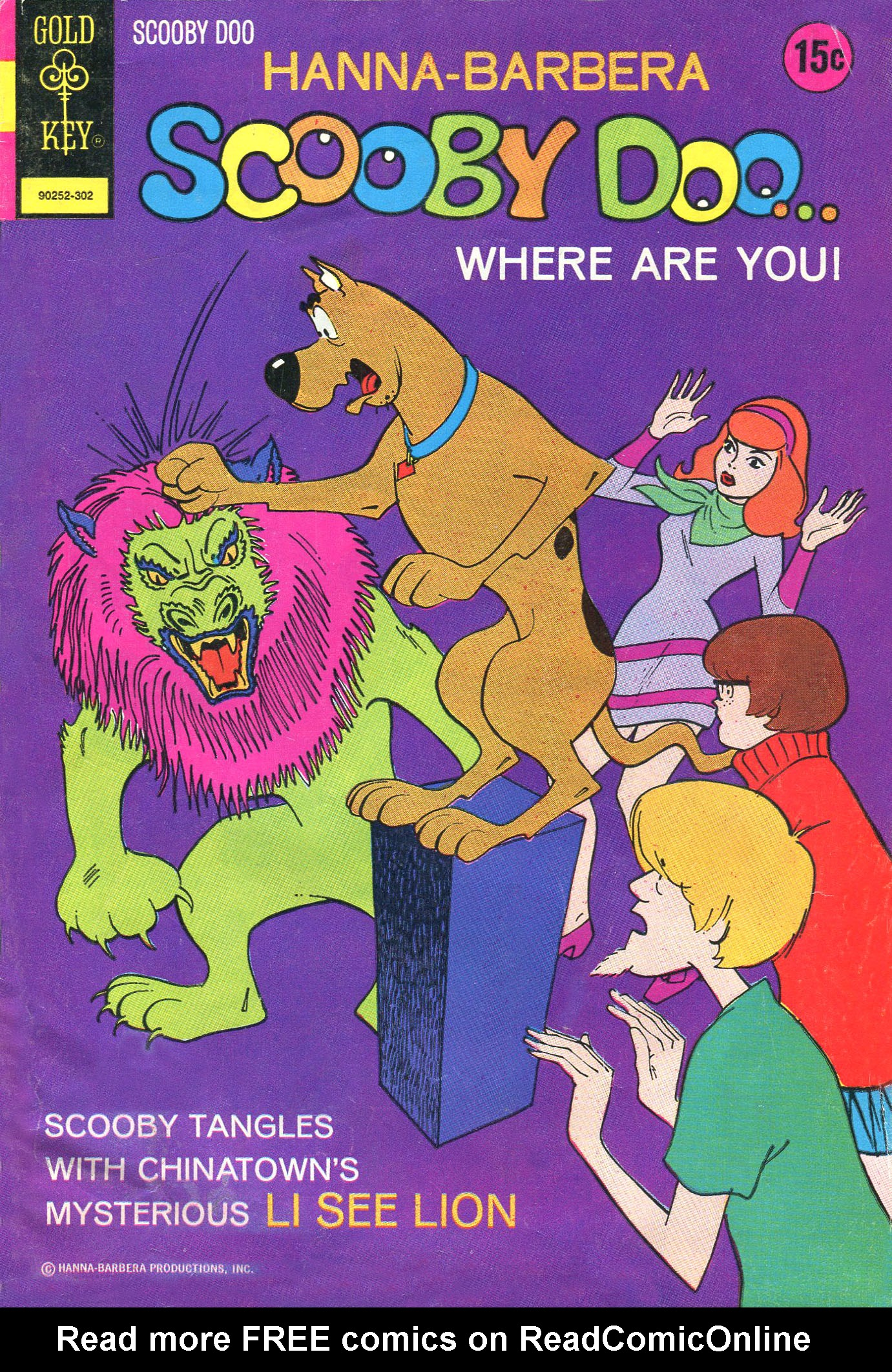 Read online Scooby-Doo... Where Are You! (1970) comic -  Issue #16 - 1