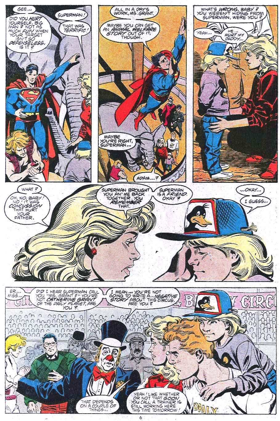 Read online Adventures of Superman (1987) comic -  Issue #438 - 7